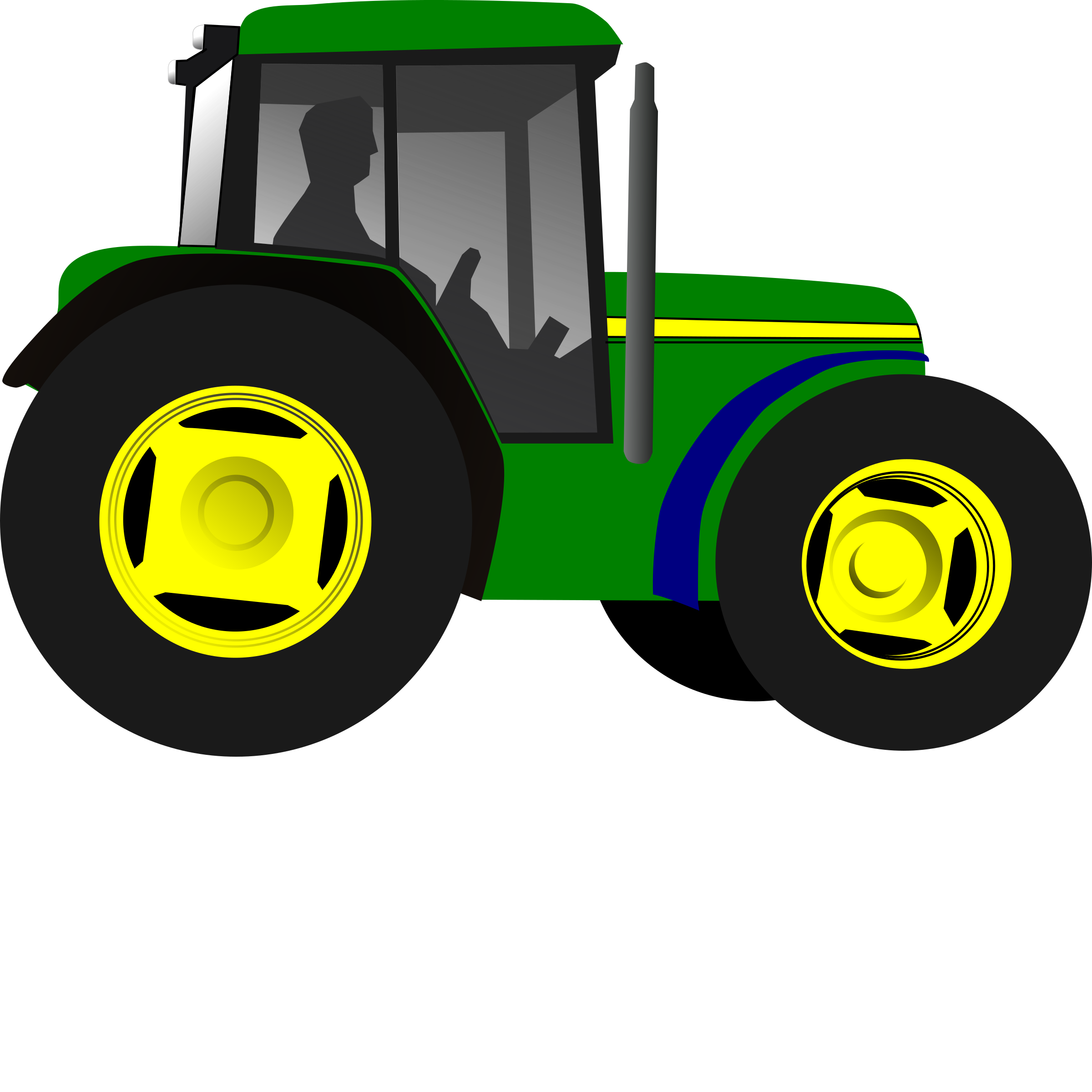 Little Green Tractor by yman