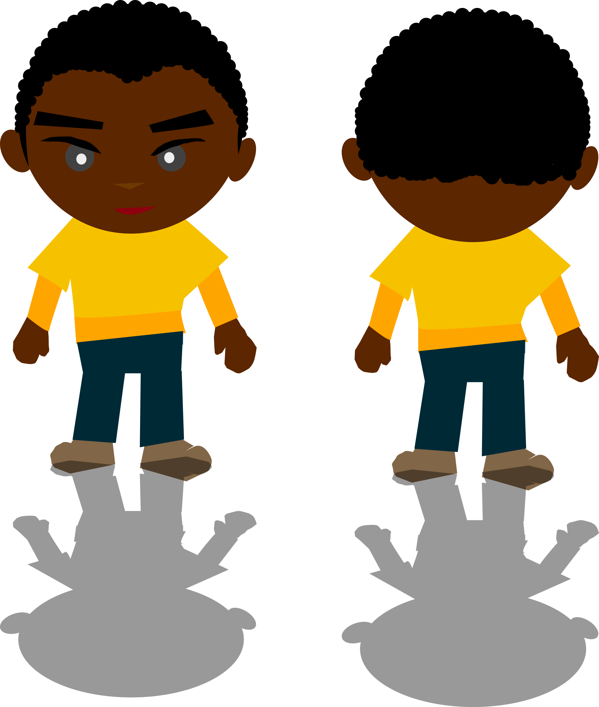 Black Boy - PNG by Ricardo