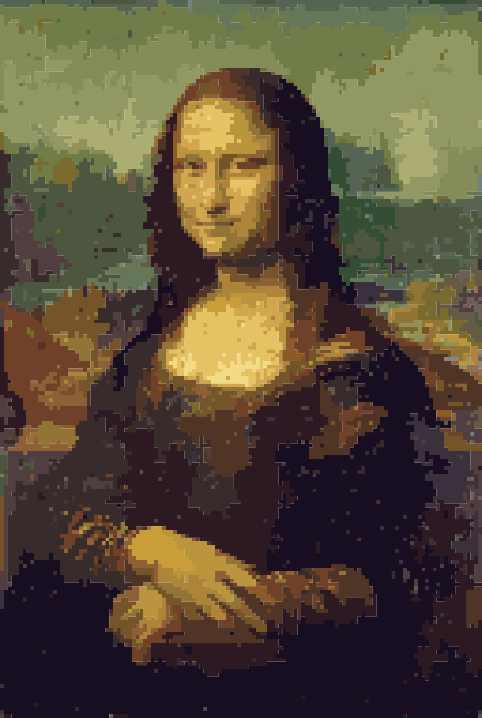 New Mona Lisa in the Pixel Age by wallpapergirl