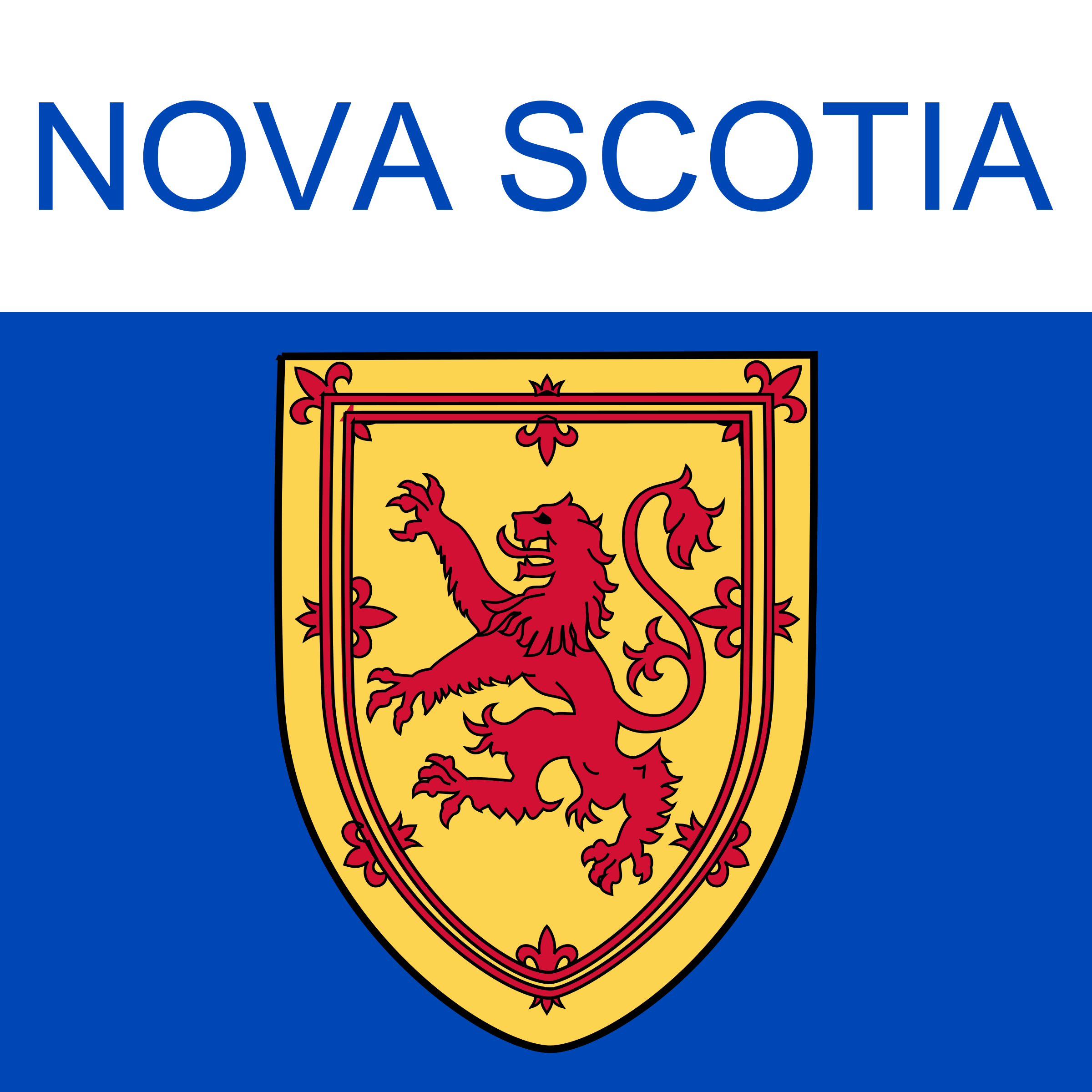 Nova Scotia Icon by Dustwin