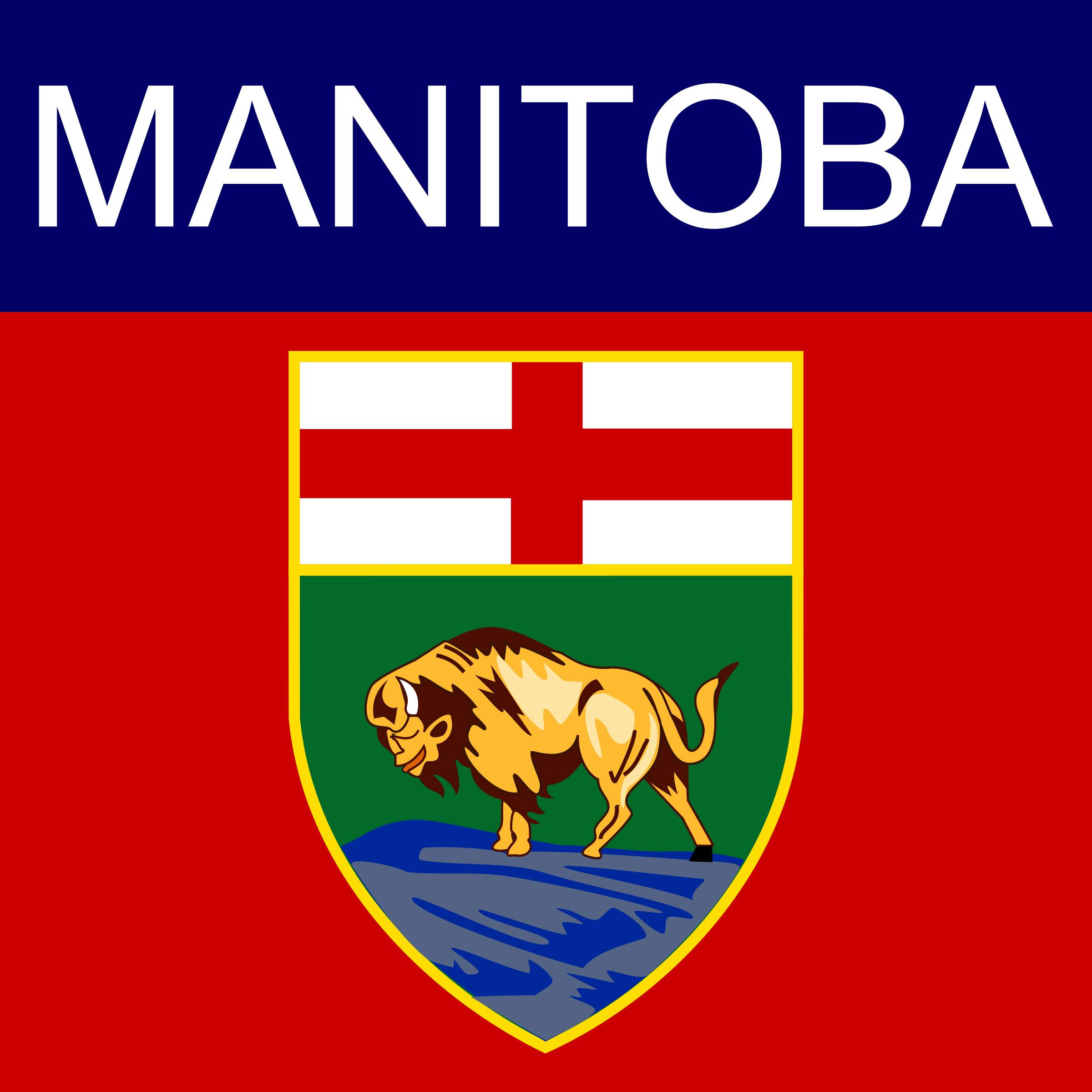 Manitoba Icon by Dustwin