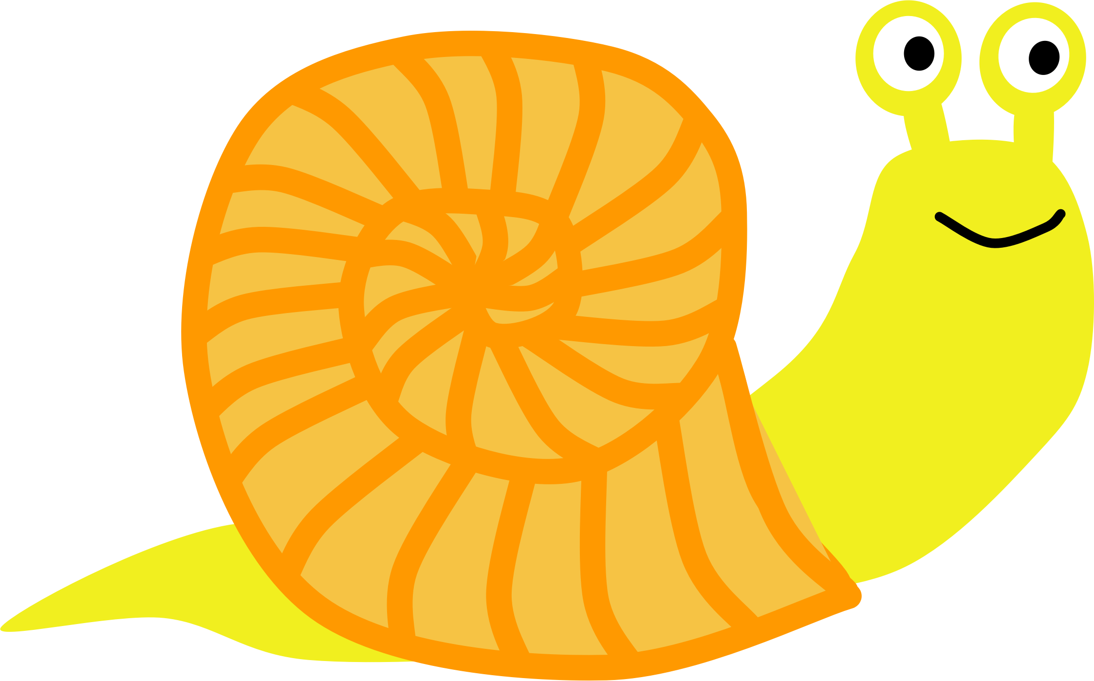 Snail Orange by Scout
