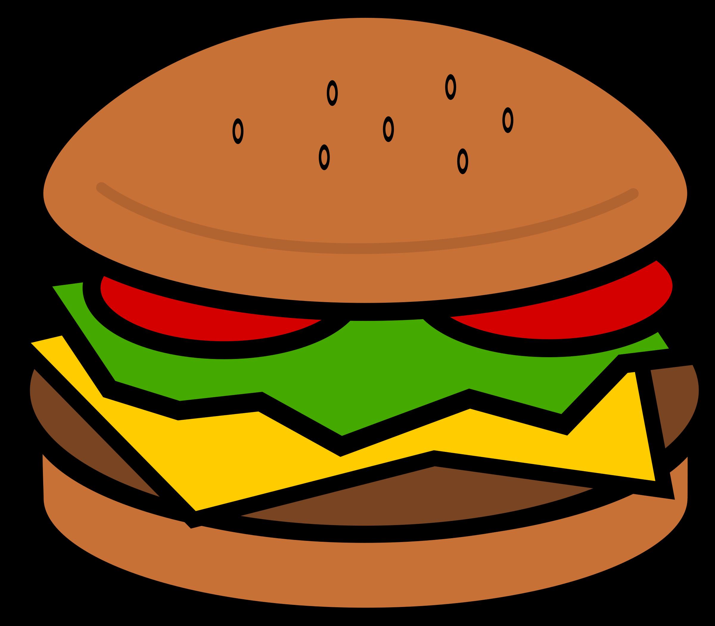 clipart hamburger rh openclipart org hamburger clip artr hamburger clip art for paragraph