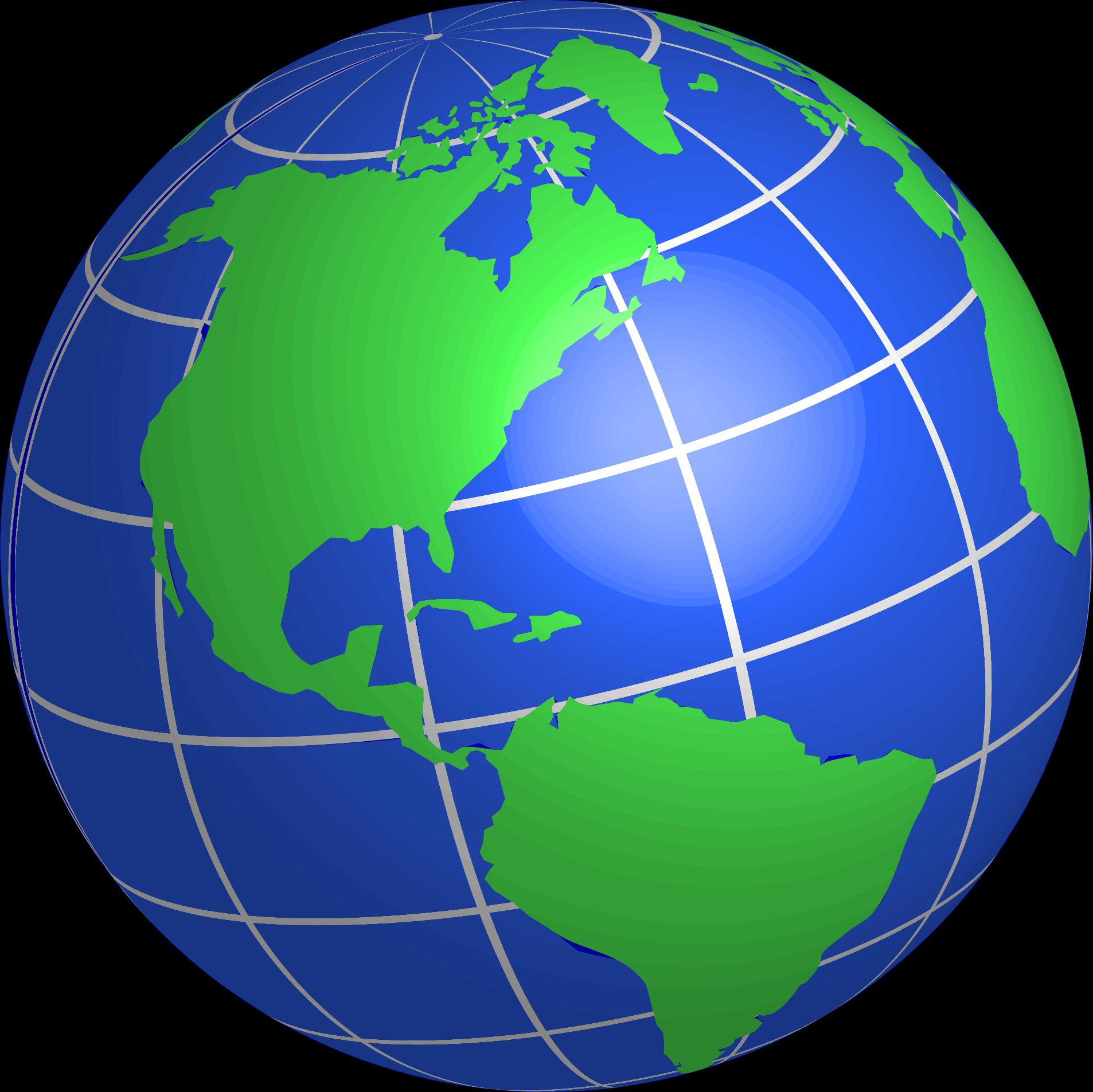 Mac Copy Shortcut Clipart North And South American Globe