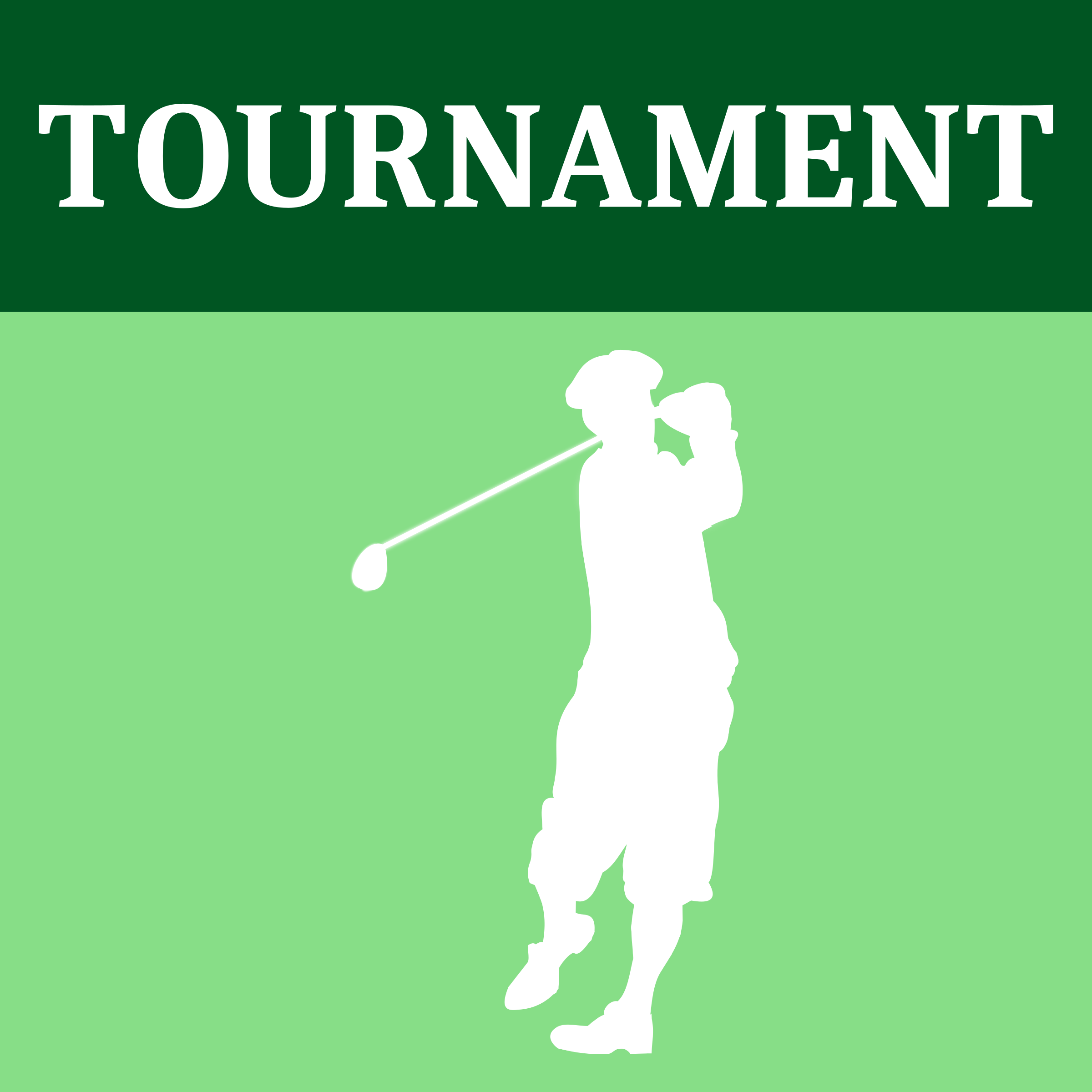 Golf Tournament Icon by Dustwin