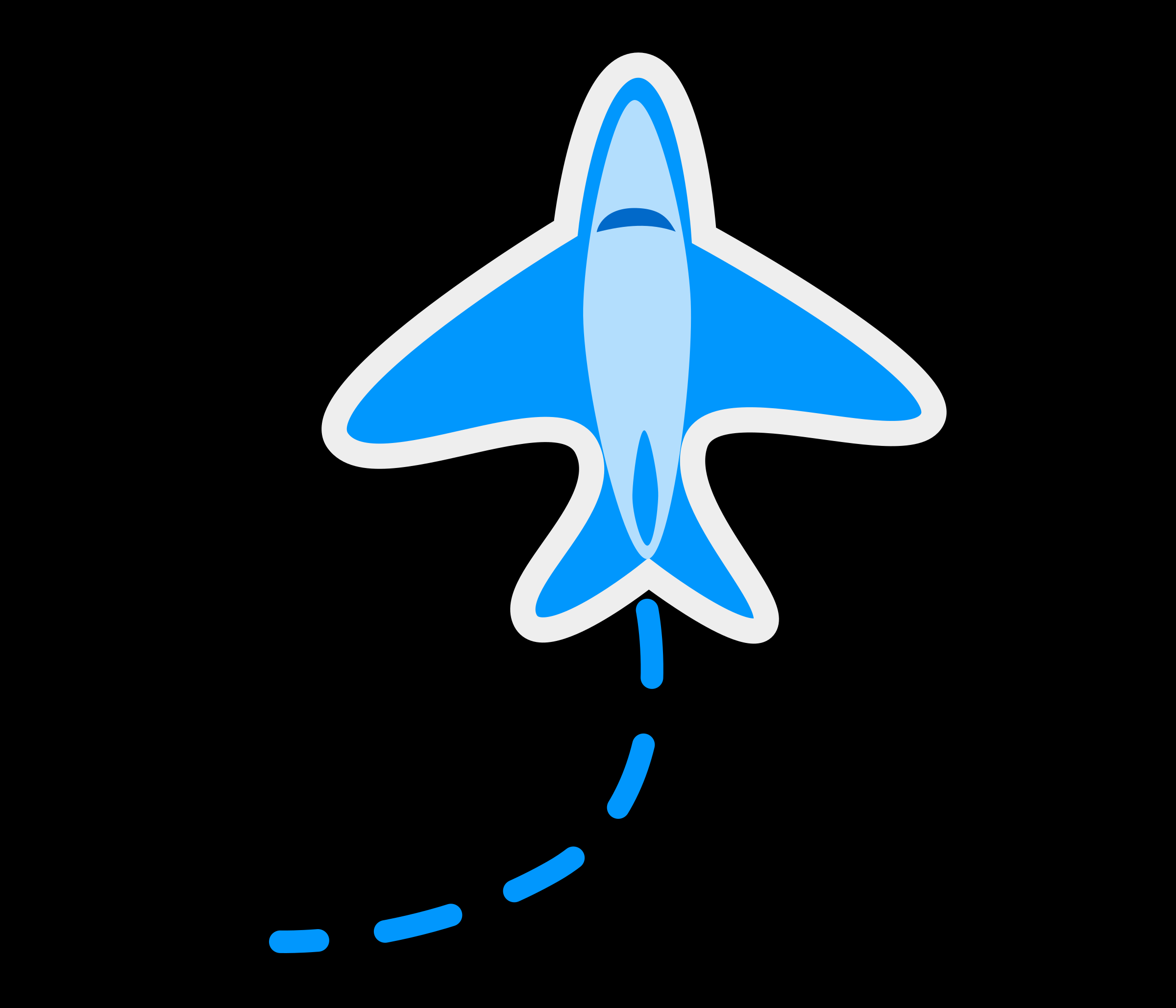 Cute plane - Aeroplane by monsterbraingames