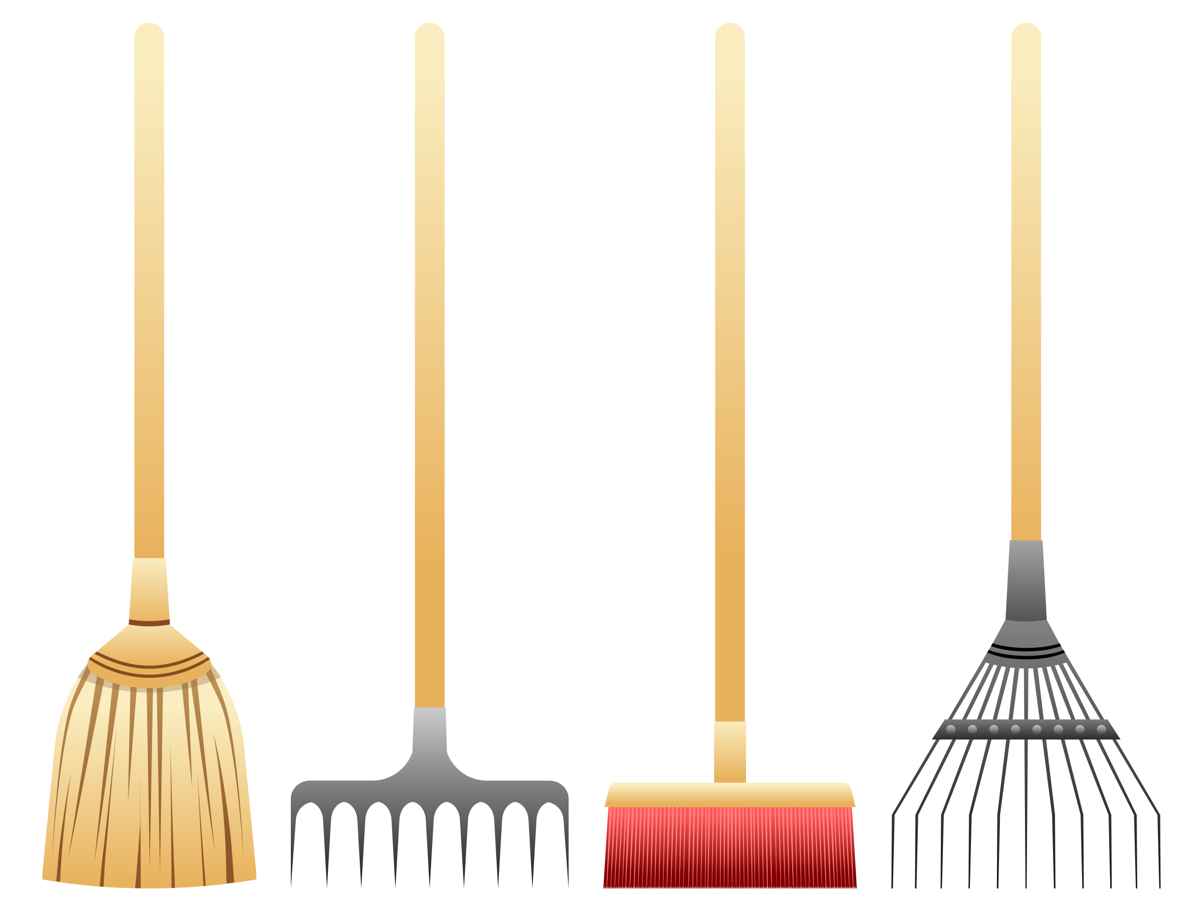 Brooms And Rakes by Viscious-Speed