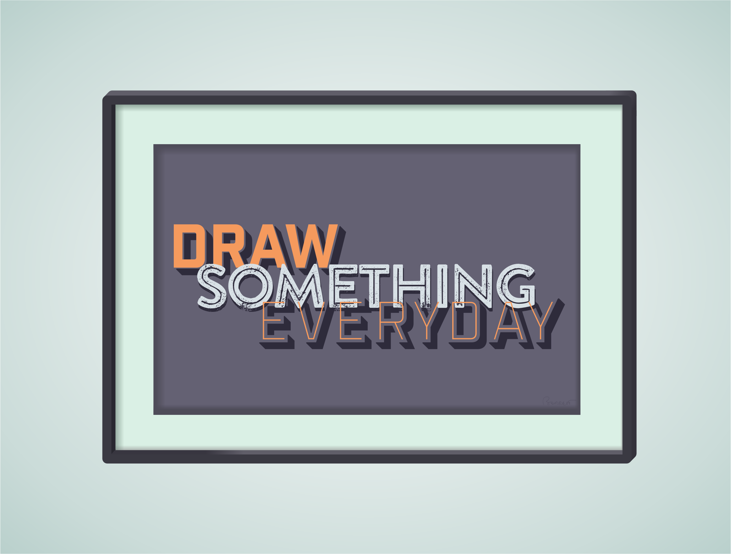 Draw Something Everyday by barrettward