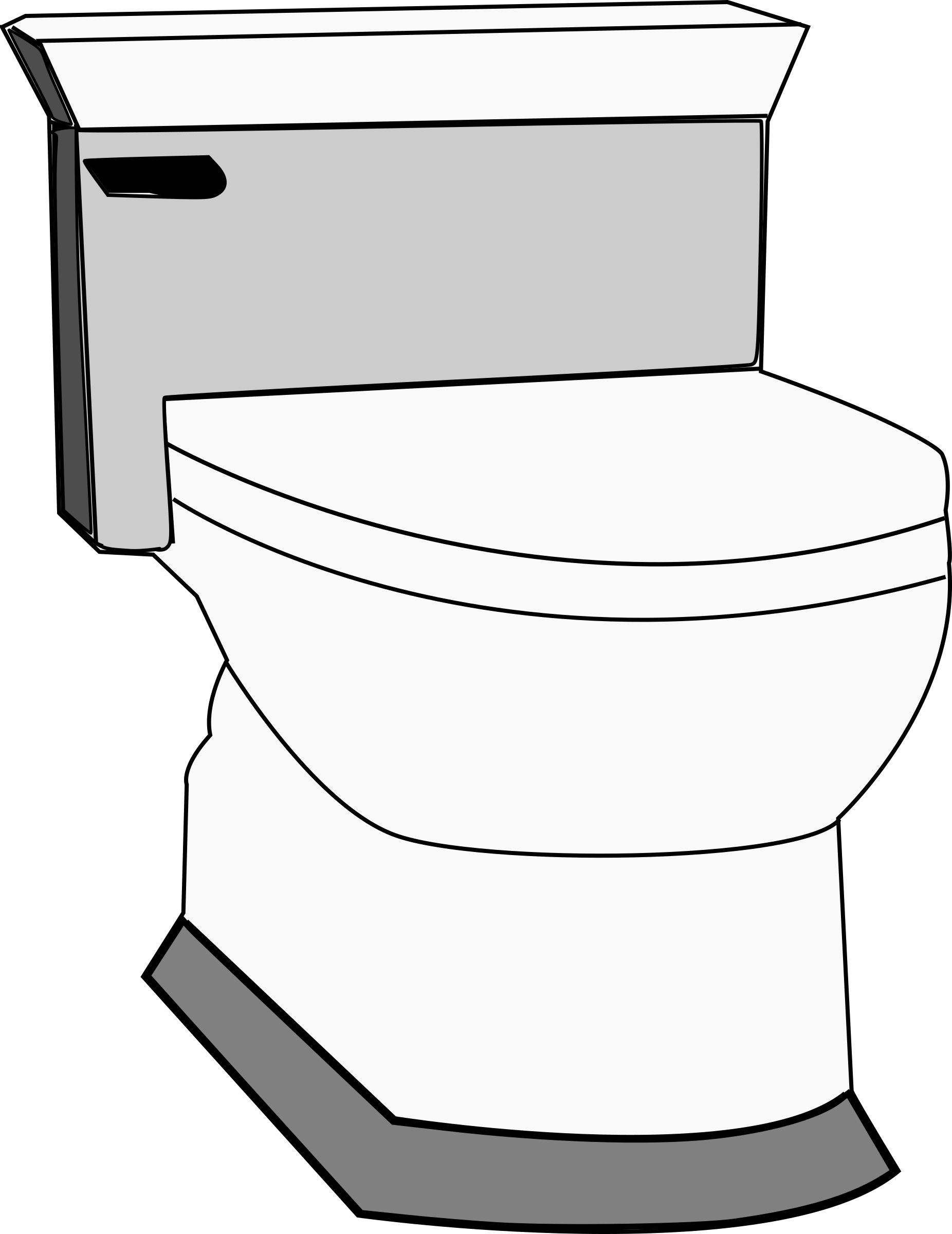 Toilet by schoolfreeware