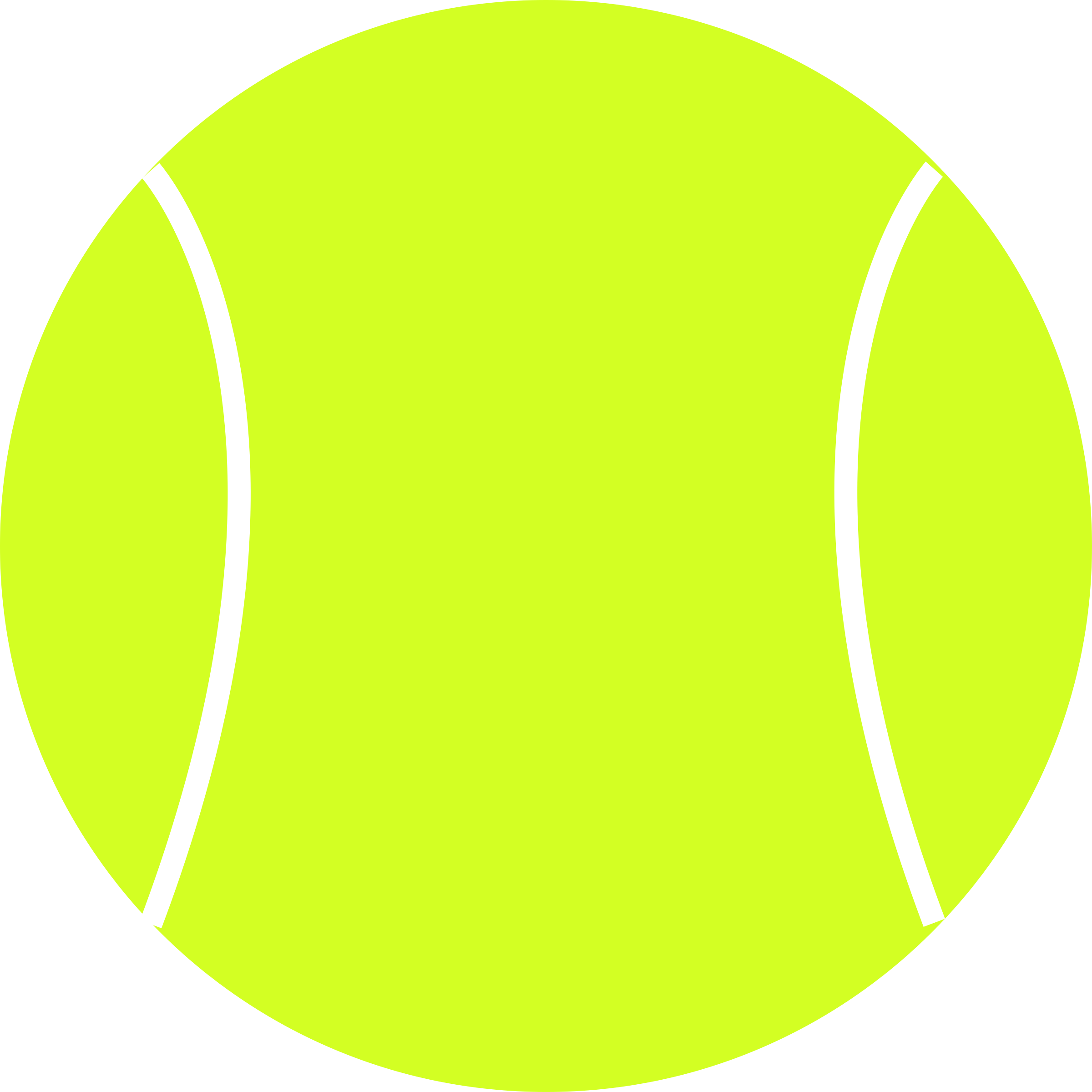 Tennis Ball by schoolfreeware