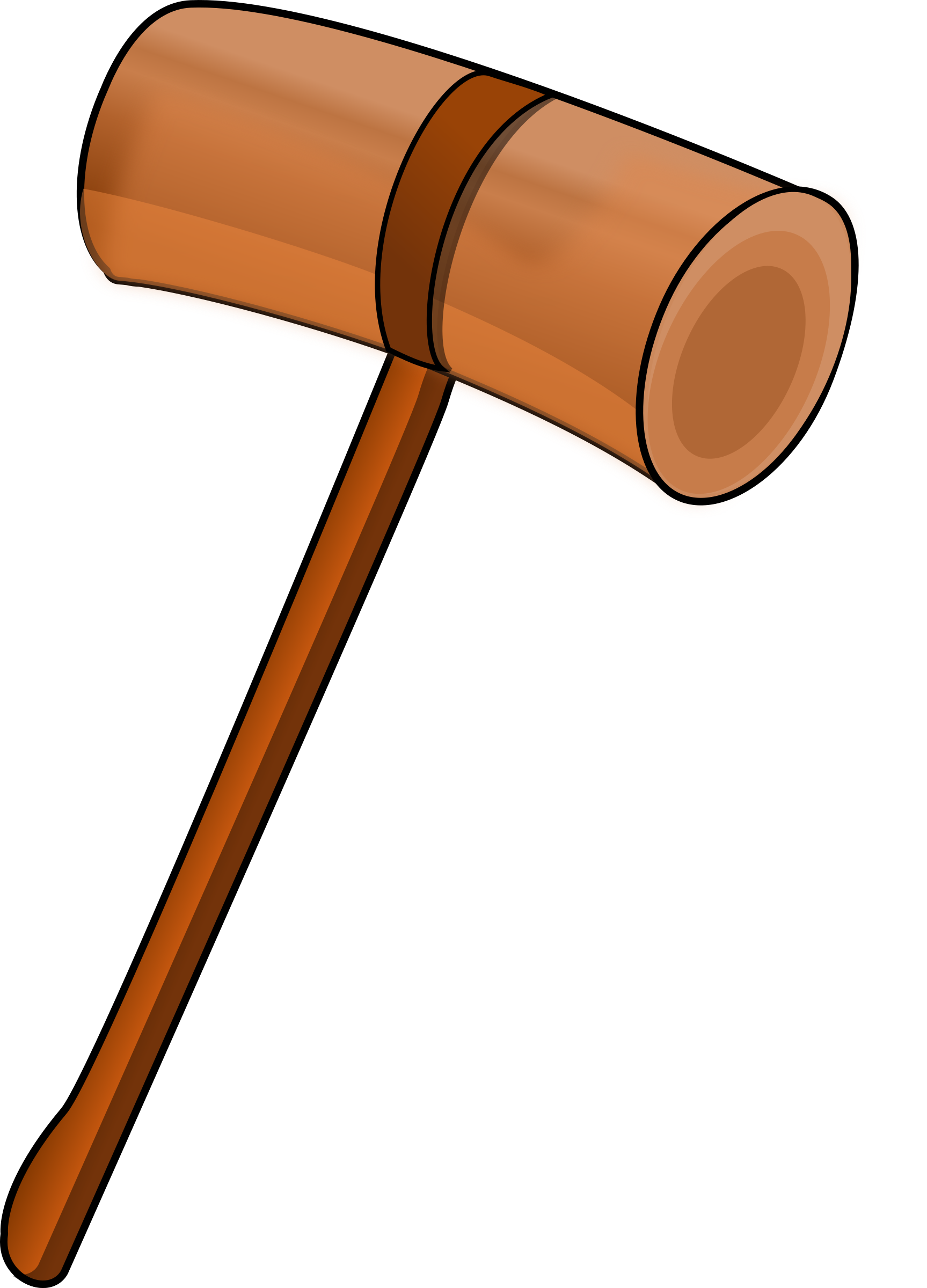 Wooden mallet by Magnesus