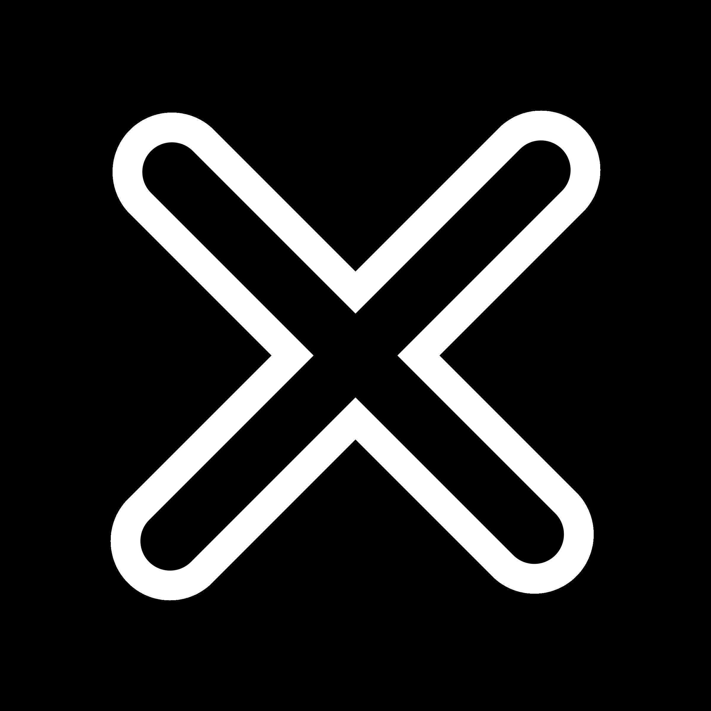 Clipart - mono checkmark