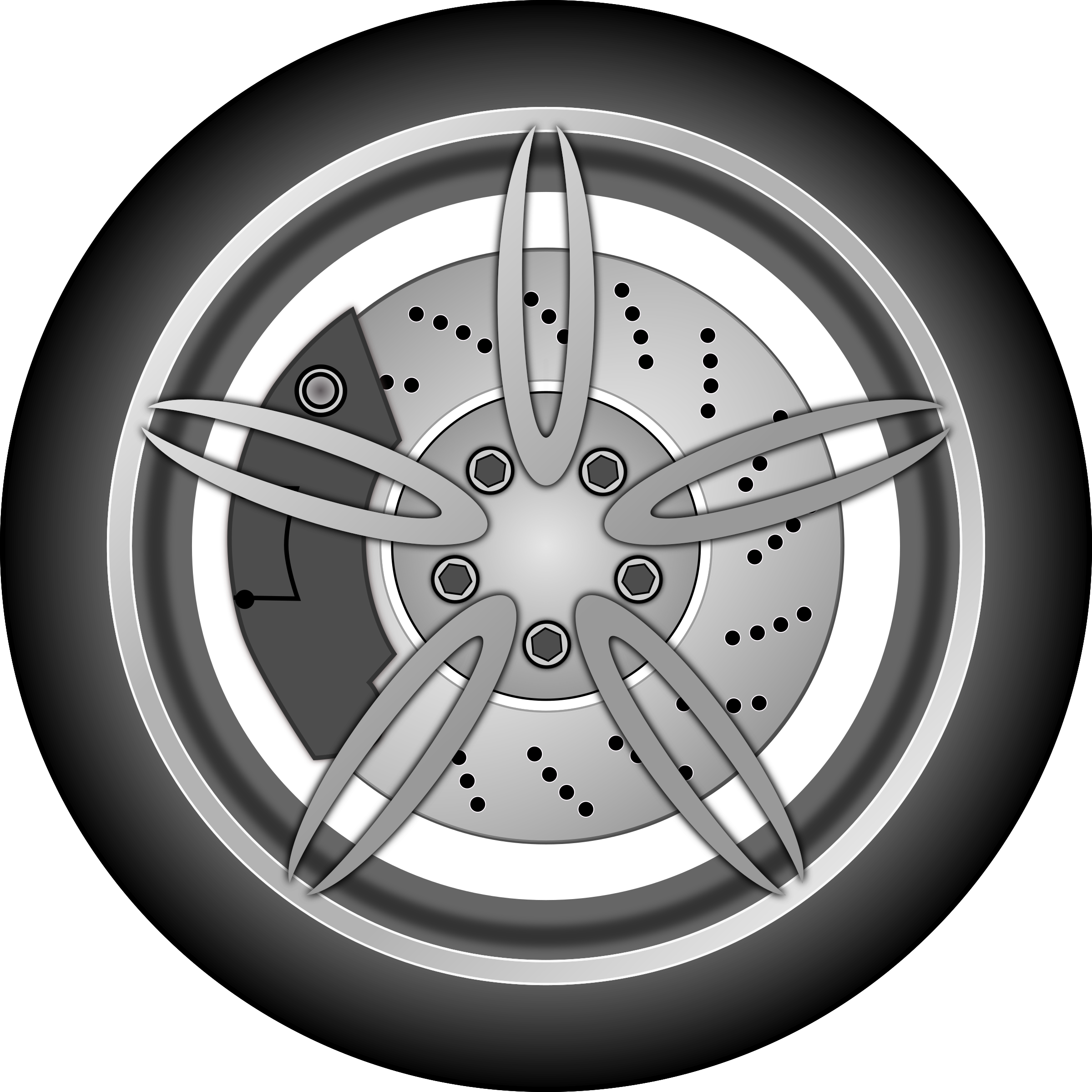 Car wheel by zlatkodesign