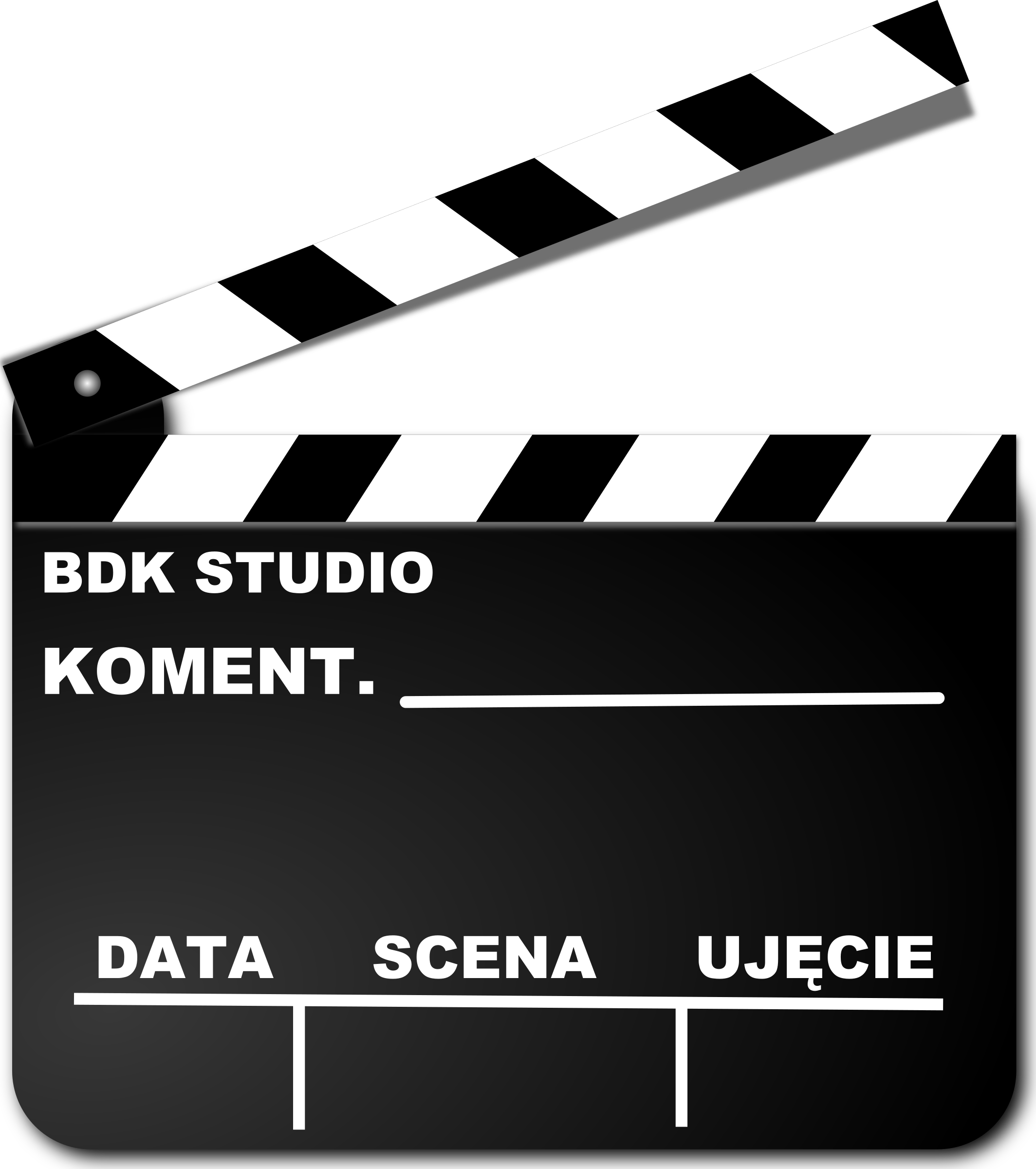 Klaps (Movie Clapper Board) by Anomaly