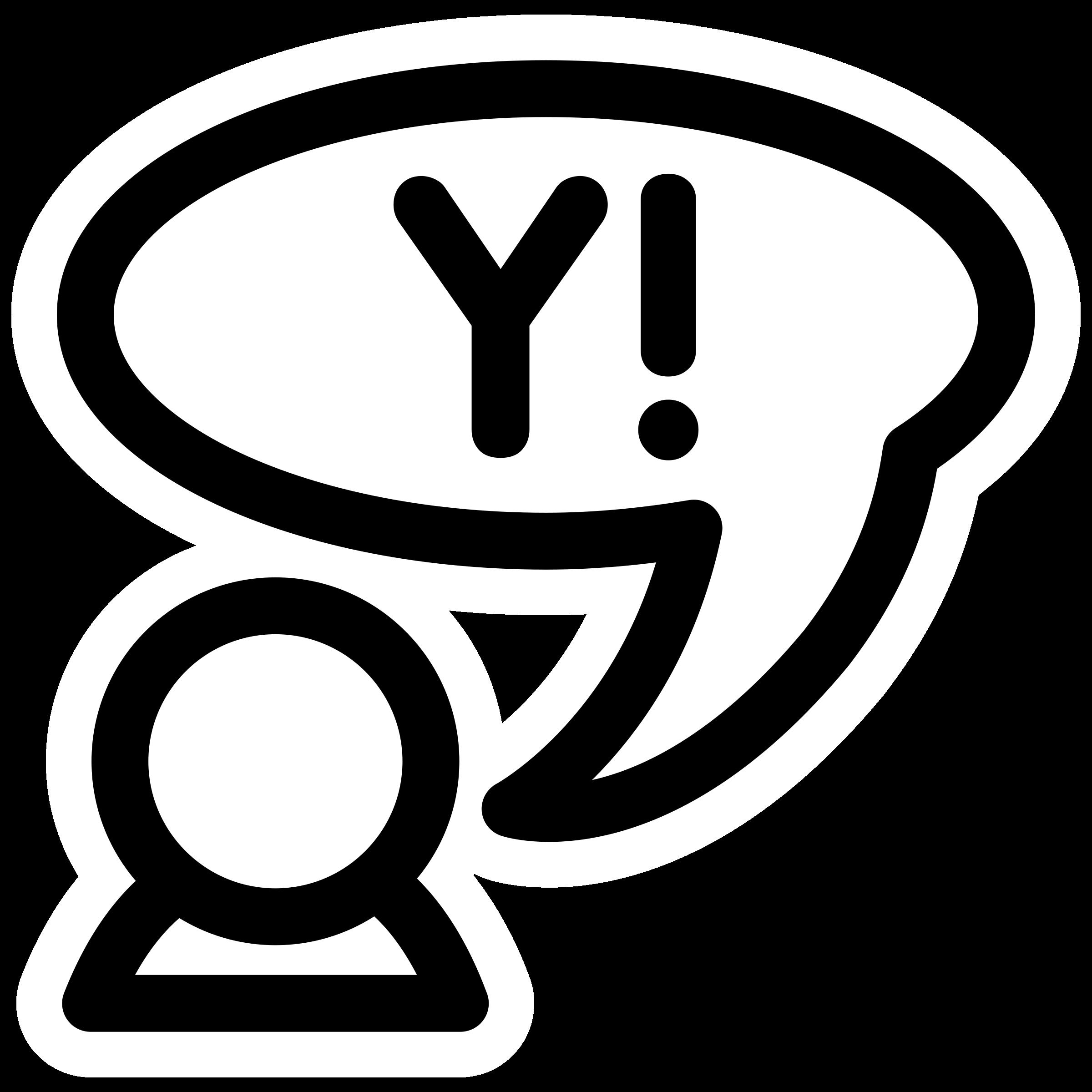clipart mono yahoo protocol rh openclipart org yahoo clip art texas rangers yahoo cliparts