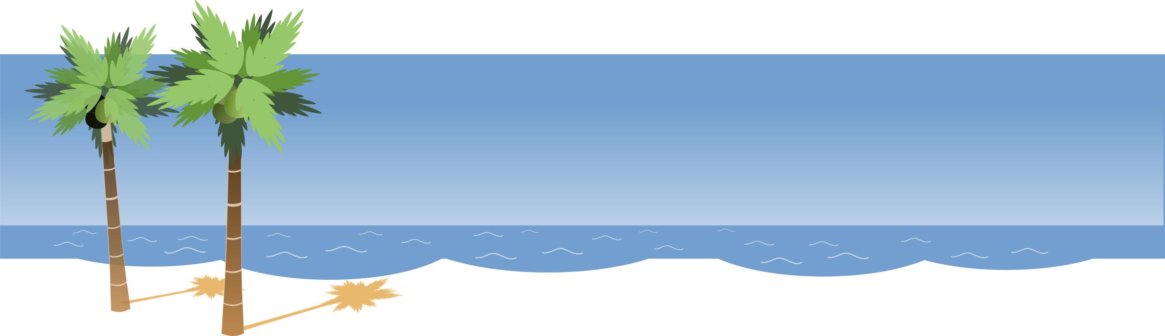 free clip art beach borders - photo #42