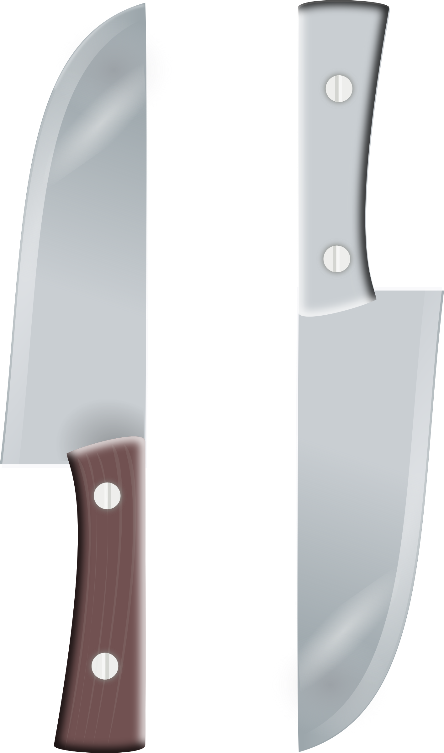two knifes by rg1024