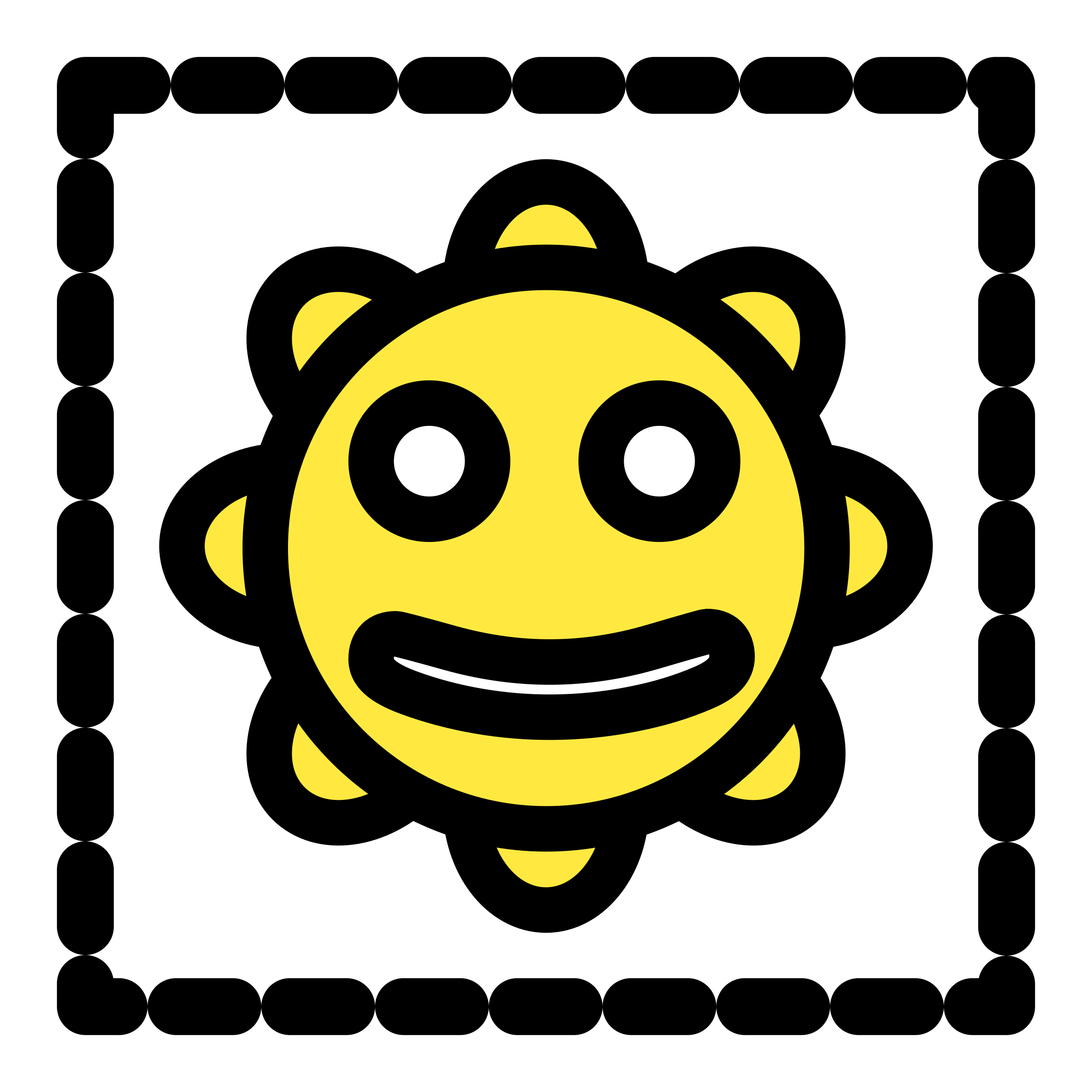 Smiley Sun Icon by dannya