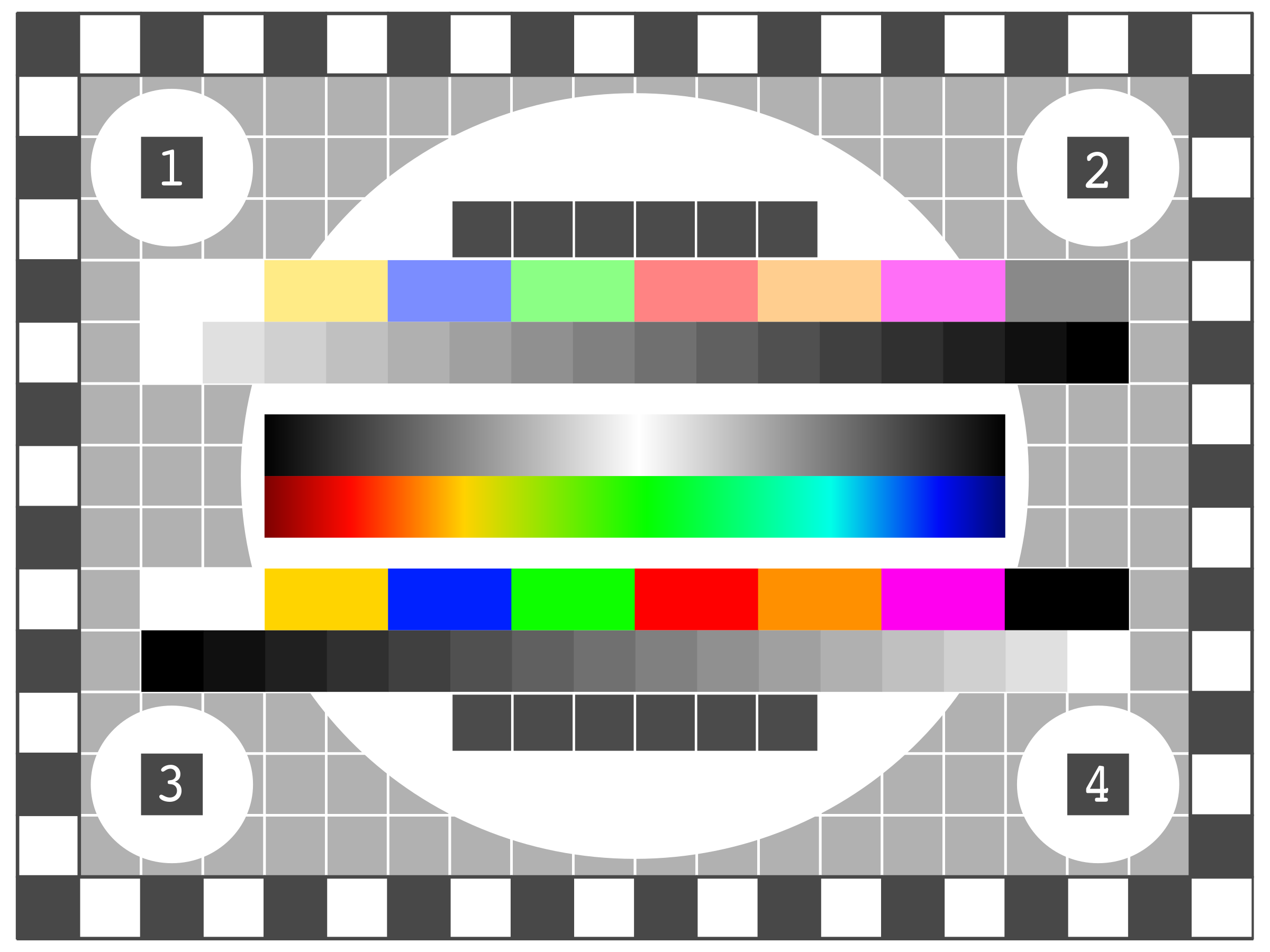 TV Test Screen by ivak