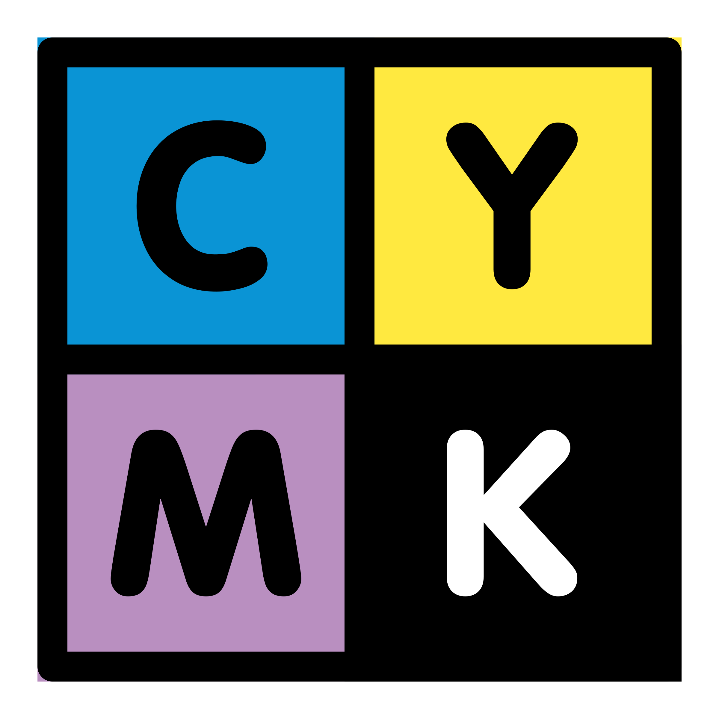 primary template cmyk empty by dannya
