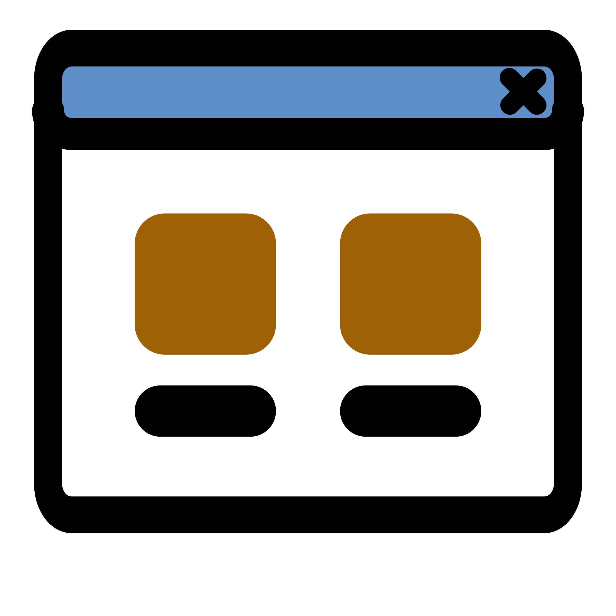 primary view icon by dannya