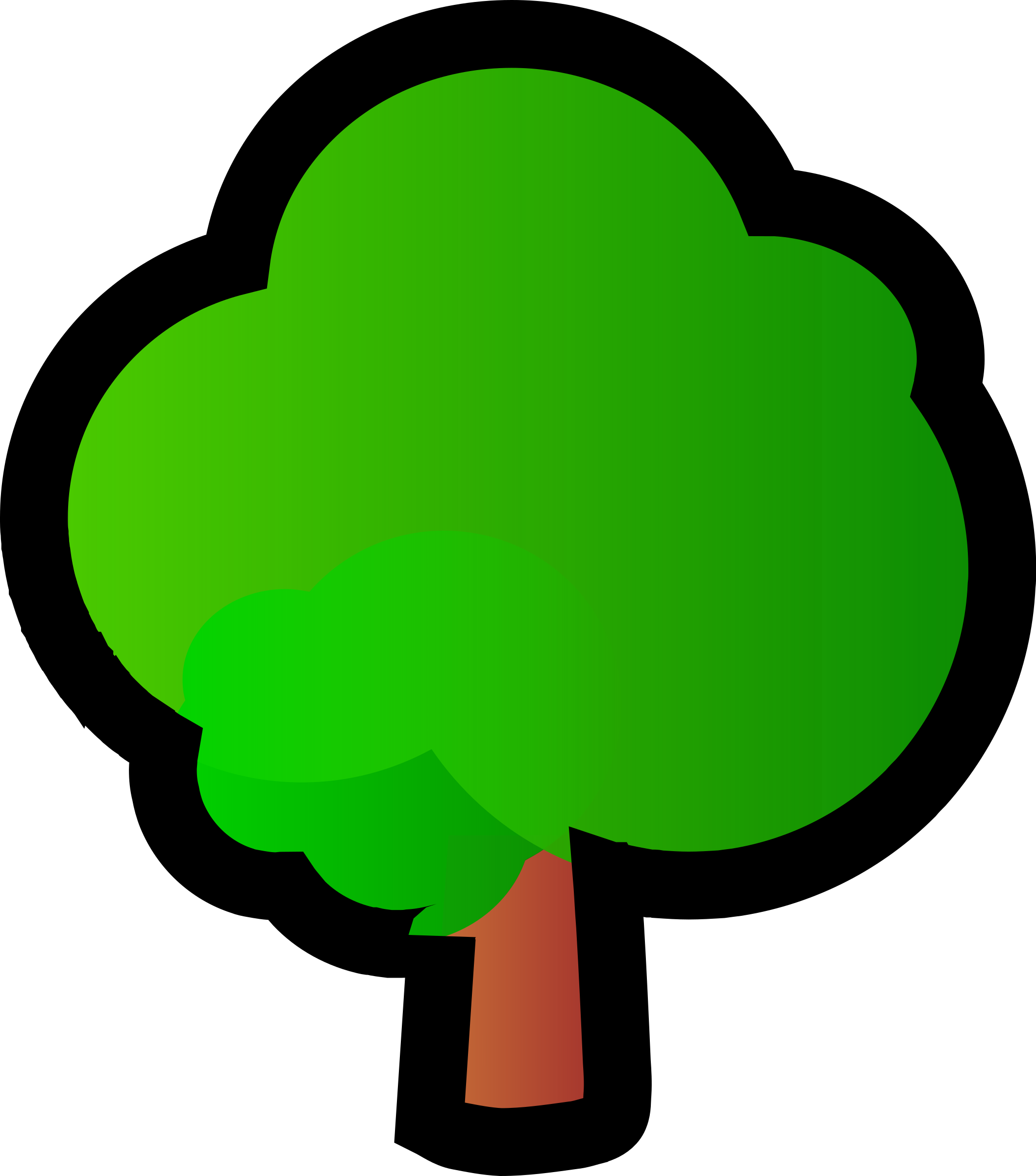 isometric tree by danza