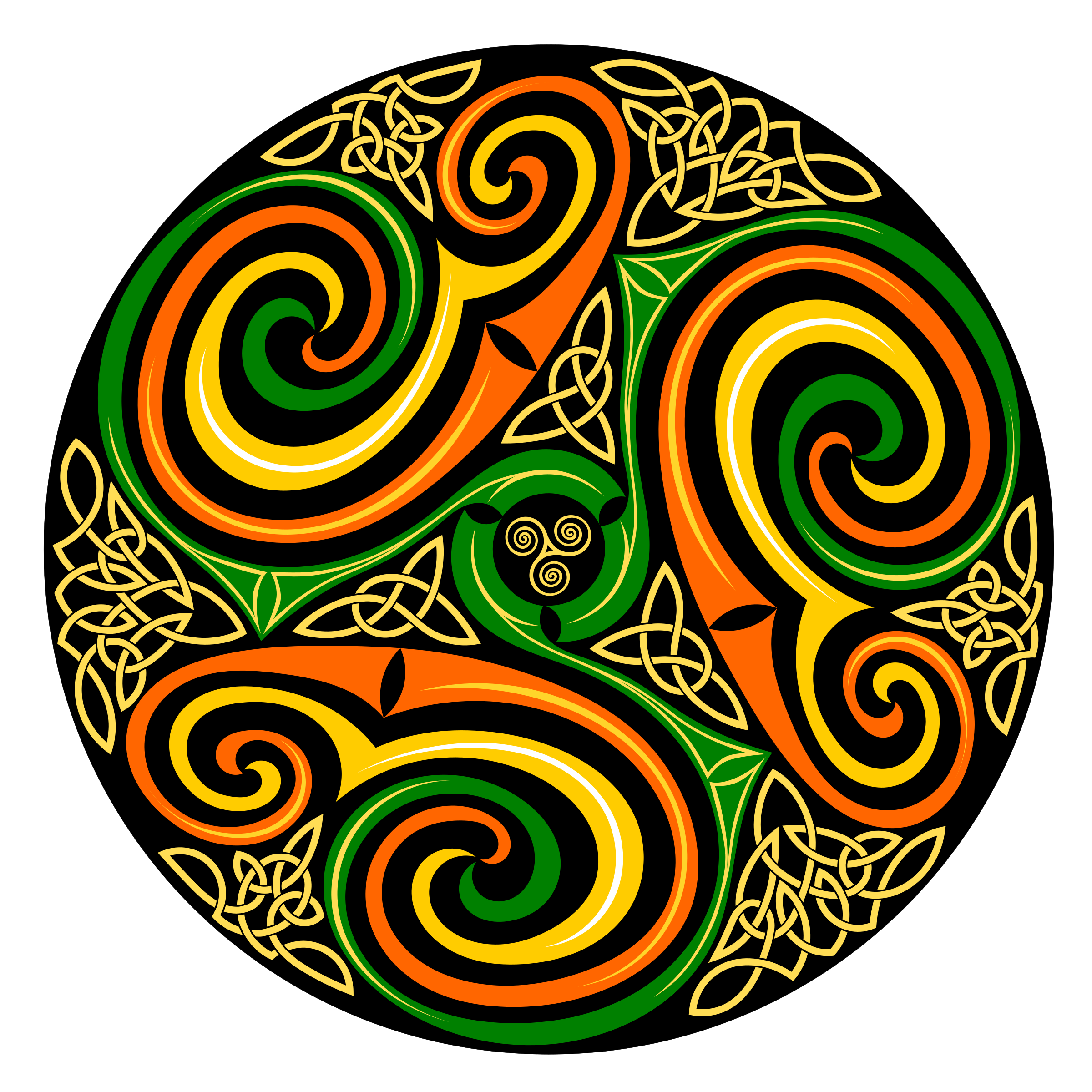 Celtic Spiral by bktheman