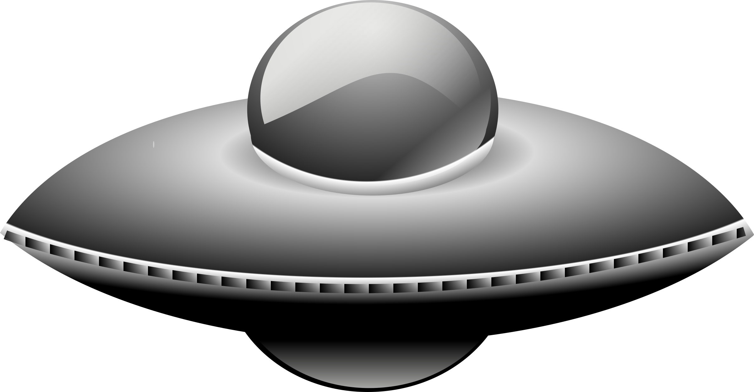 Ufo in metalic style by rg1024