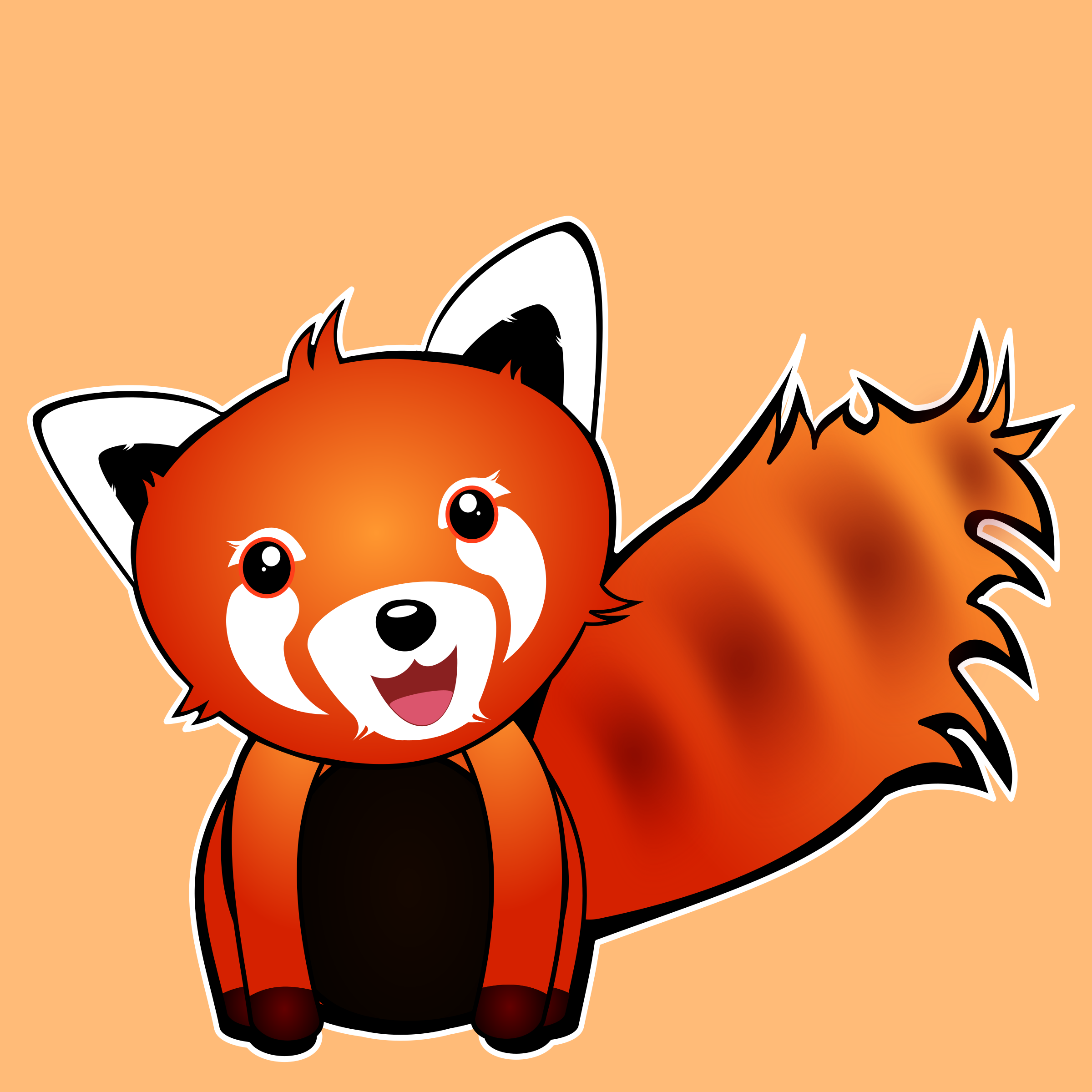 Red Panda by sonoftroll