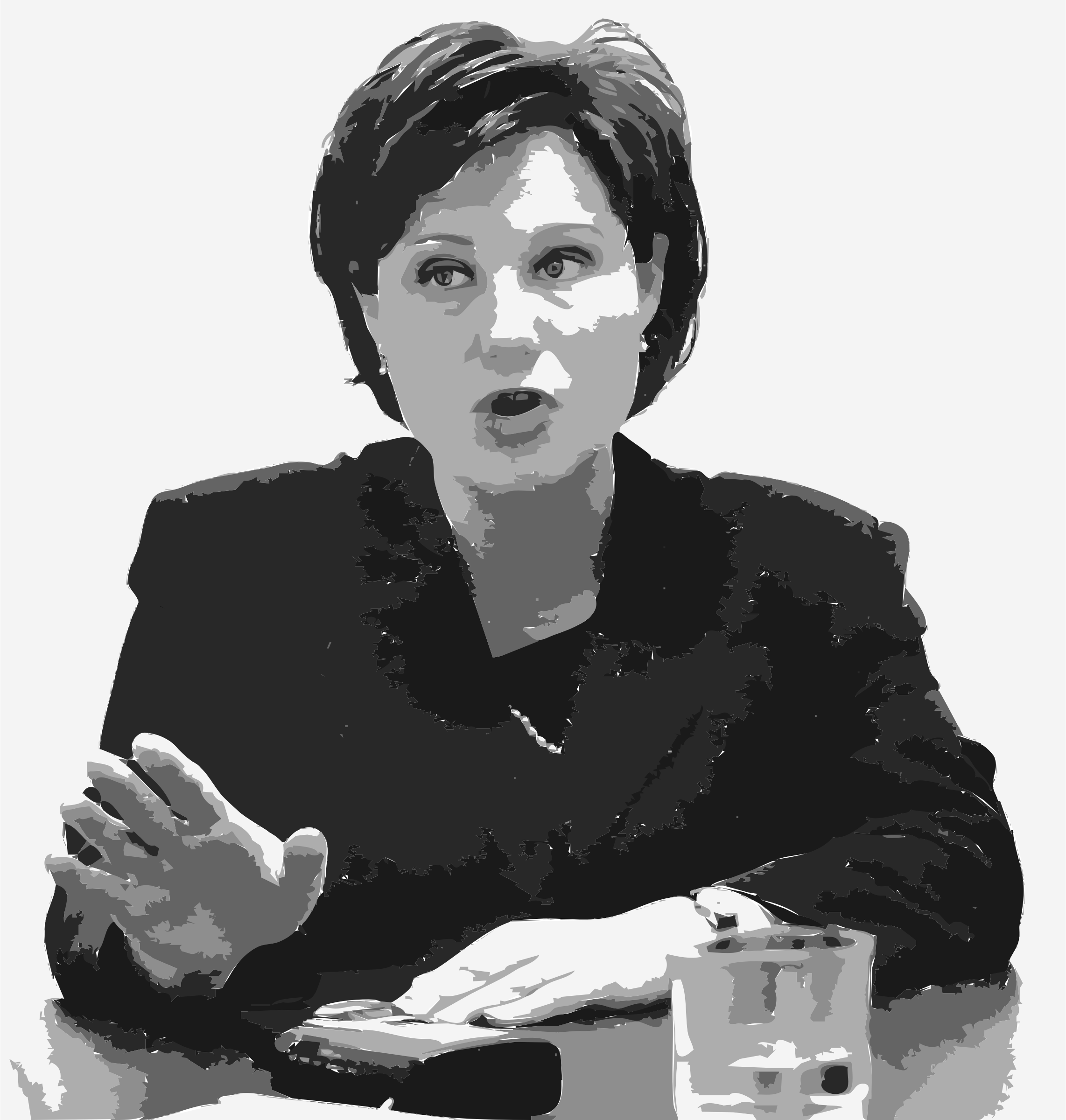 Christy Clark Talking by SteeveCo