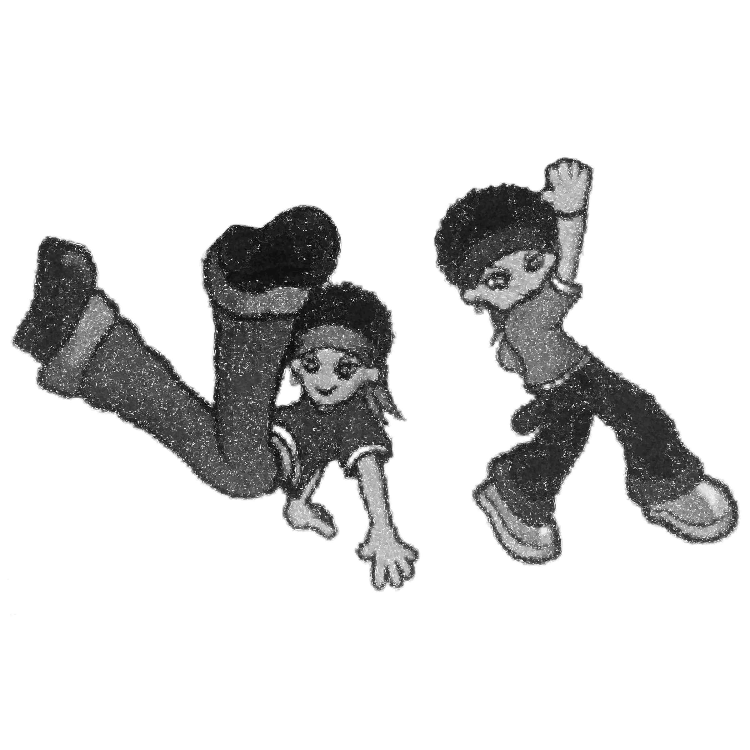 Hip Hop Kids Gray Request by rejon