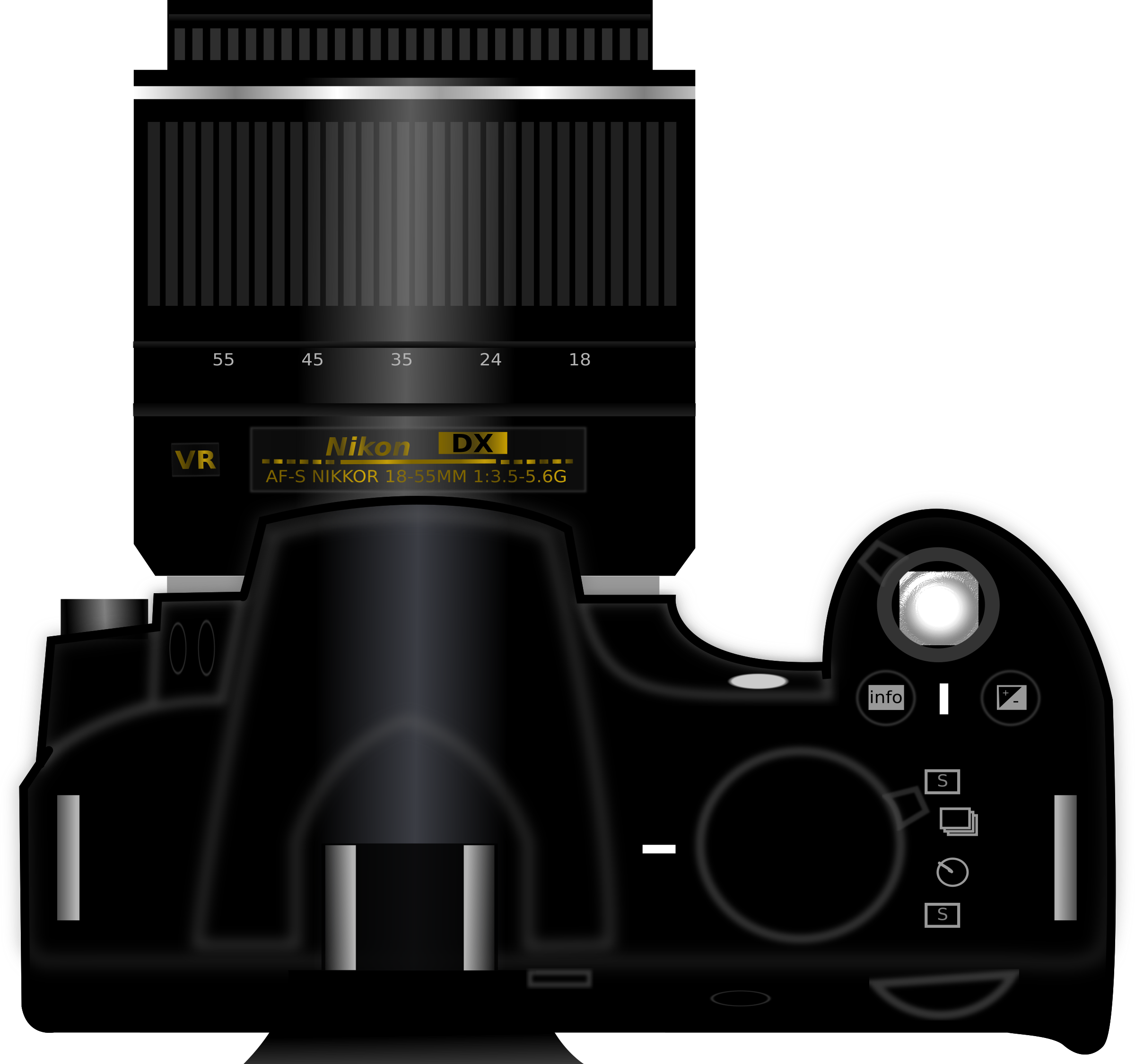 Camera DSLR by kaleemsagard