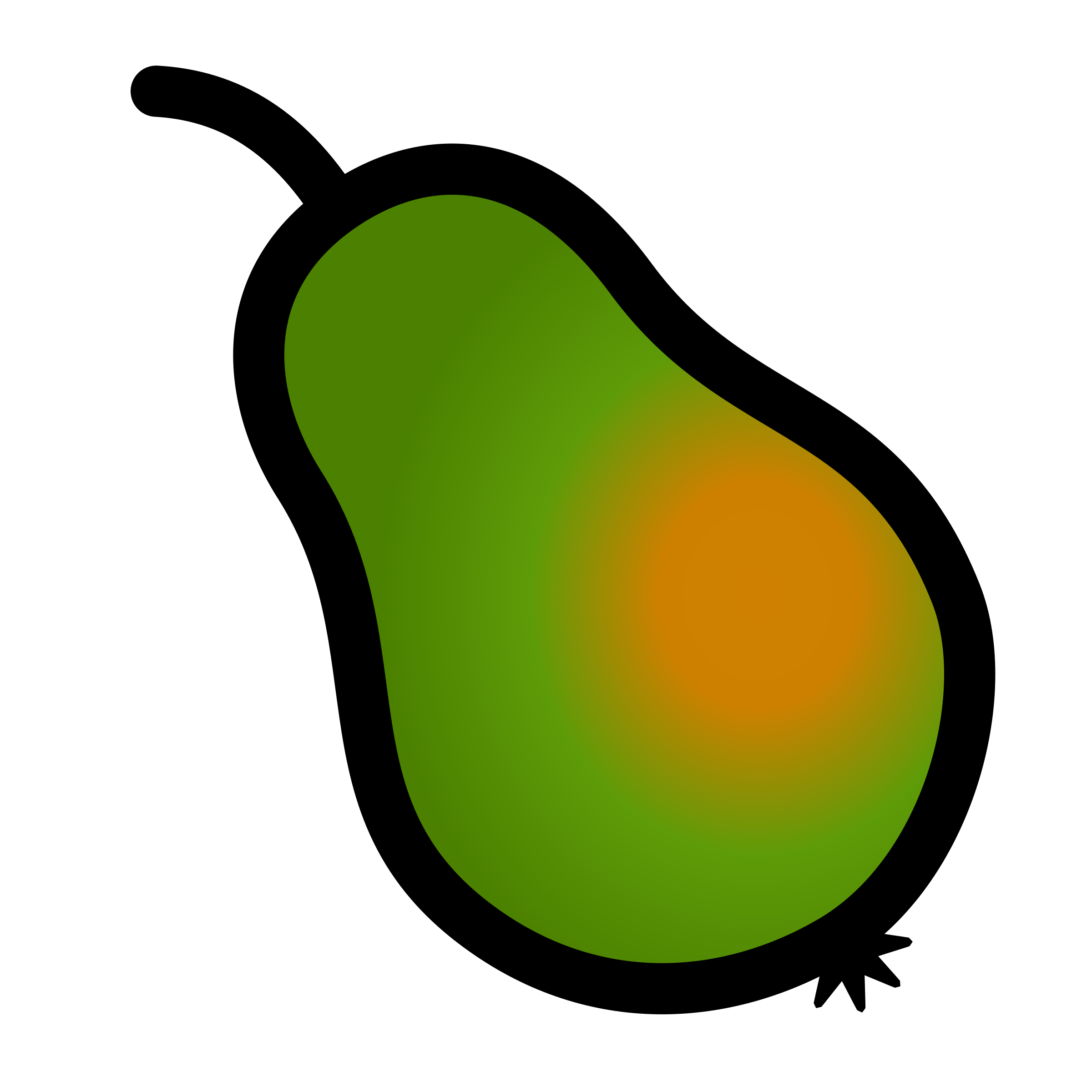 Pear icon 2 by pitr
