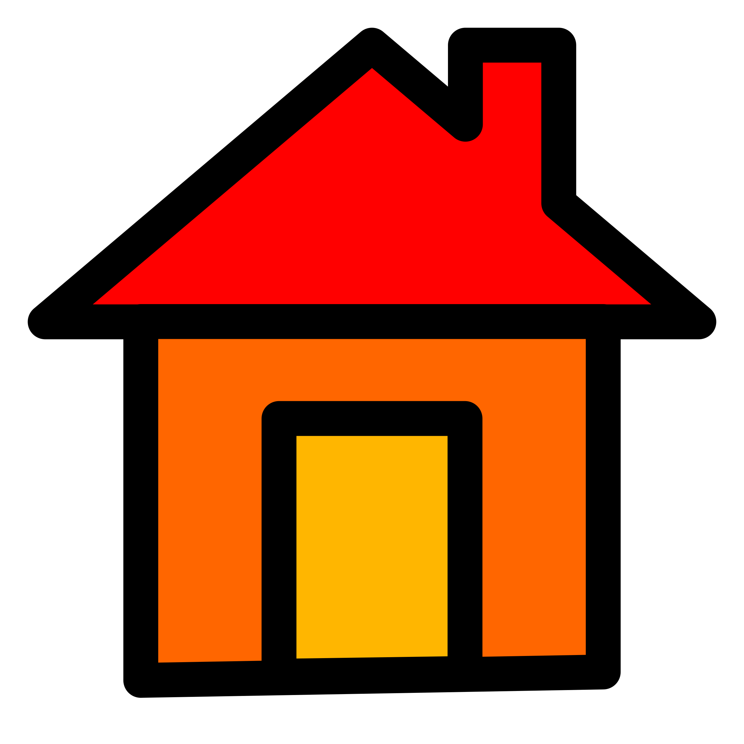 Home icon by pitr