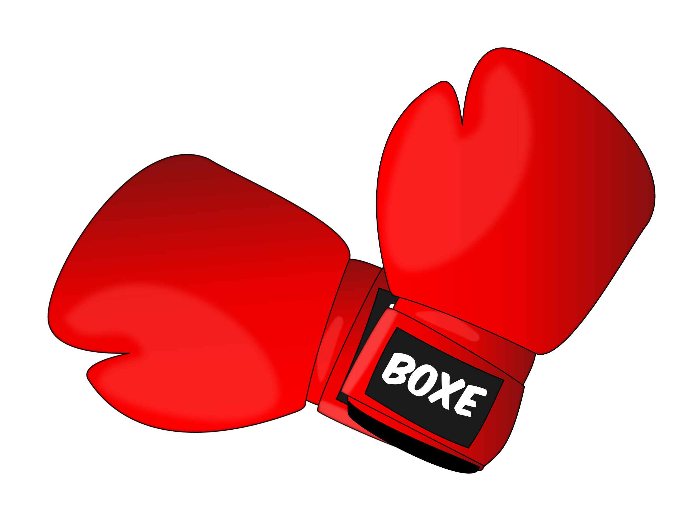 Clipart - Boxing gloves