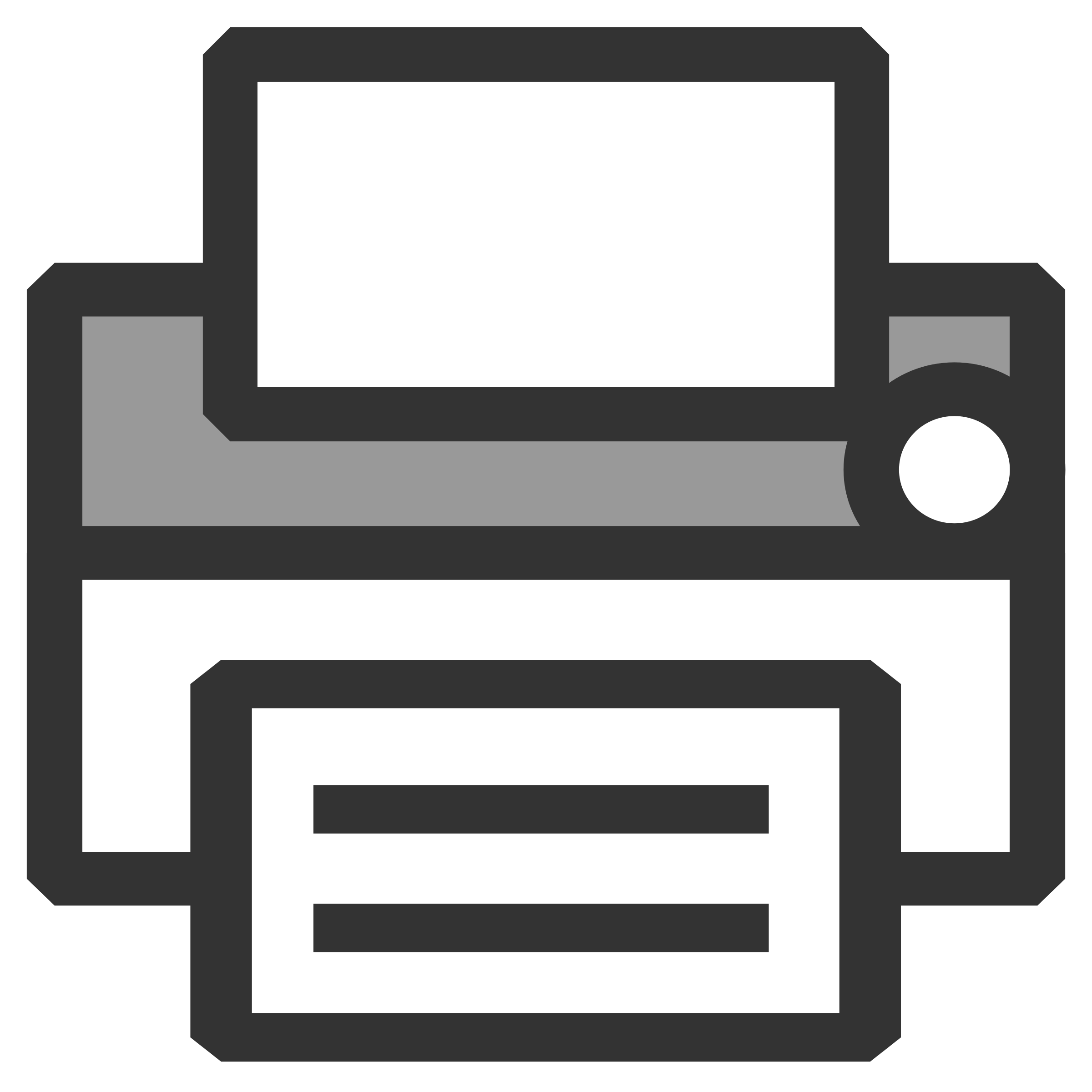 Clipart - Printer icon