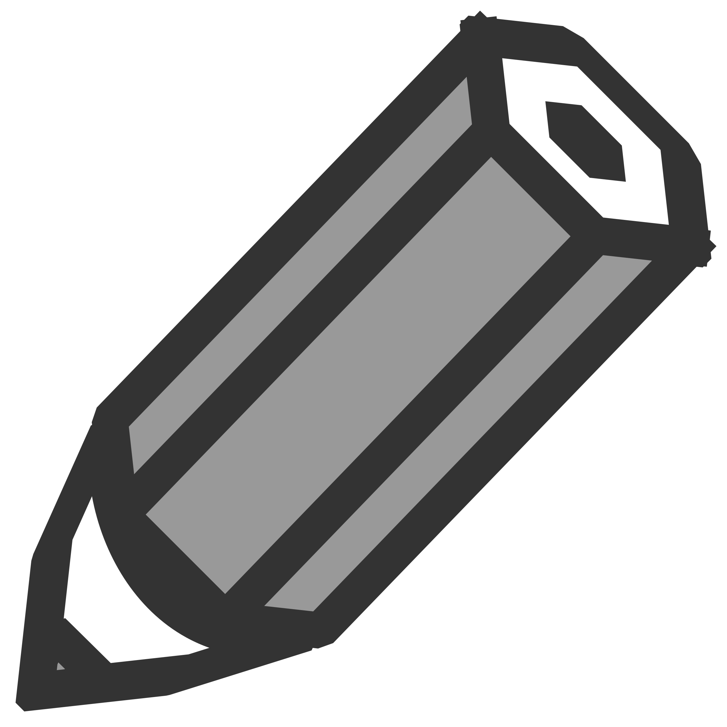 pencil icon by Keistutis
