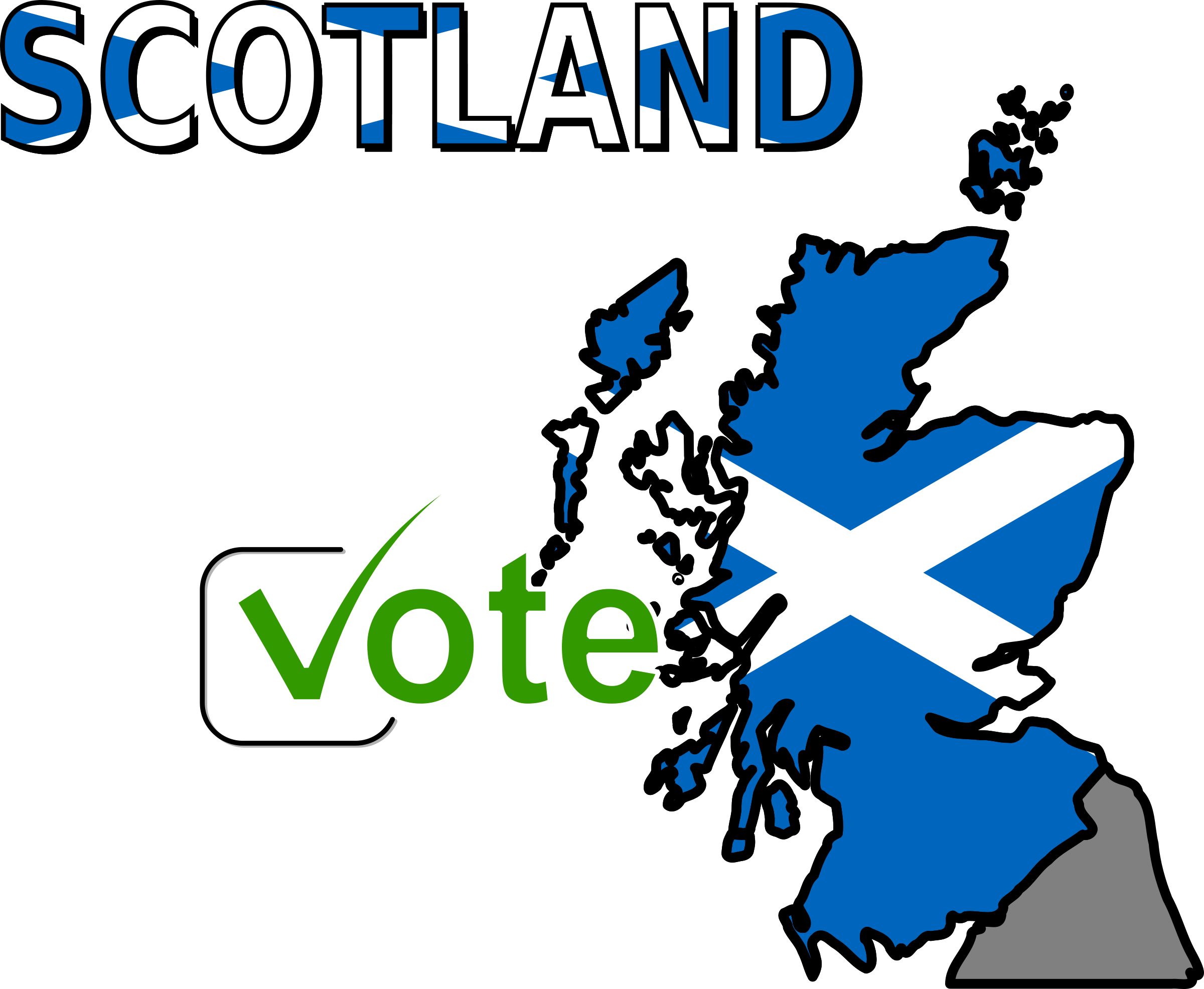 Scotland Vote by cyberscooty