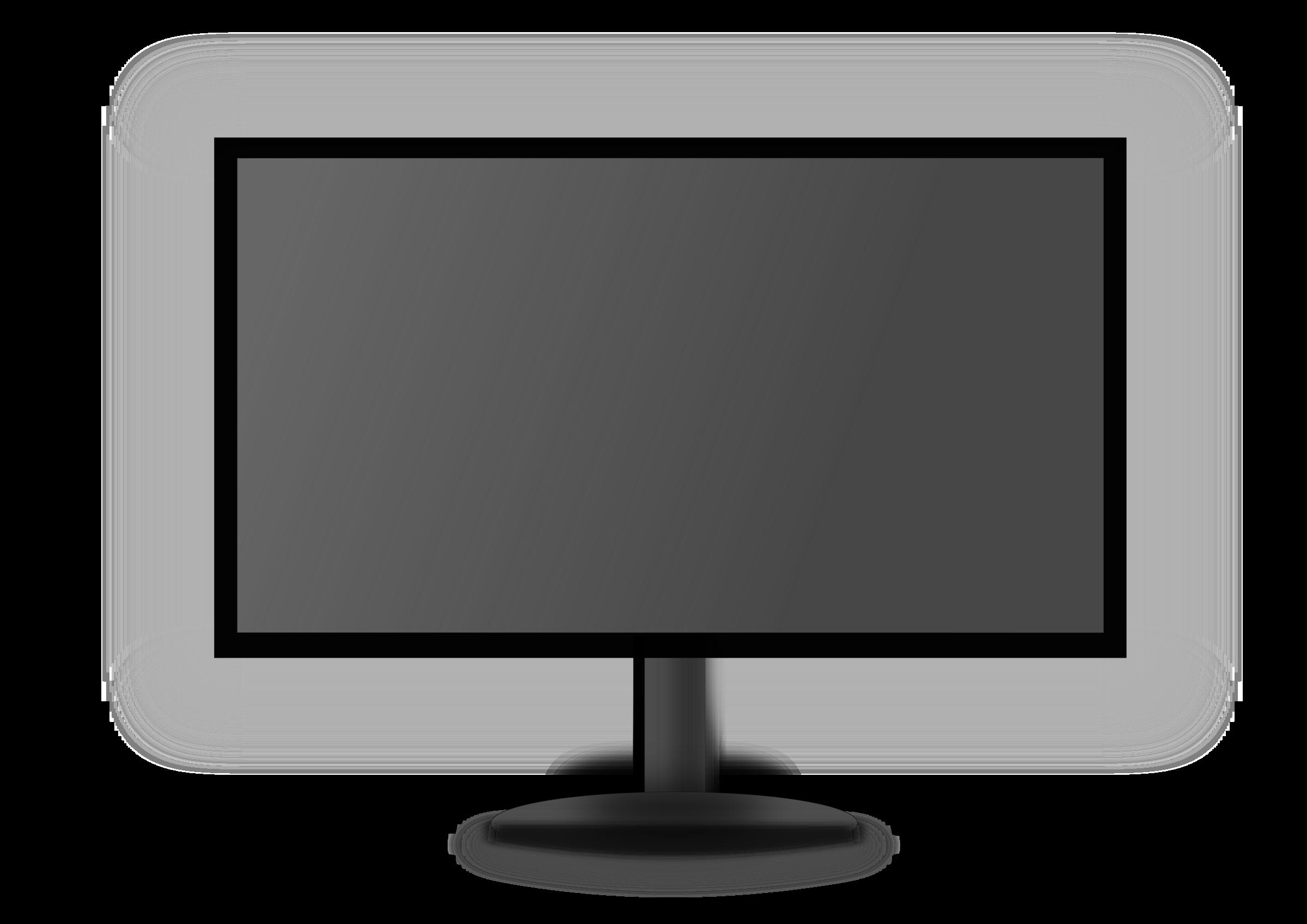 Clipart - LED Monitor_Grey screen