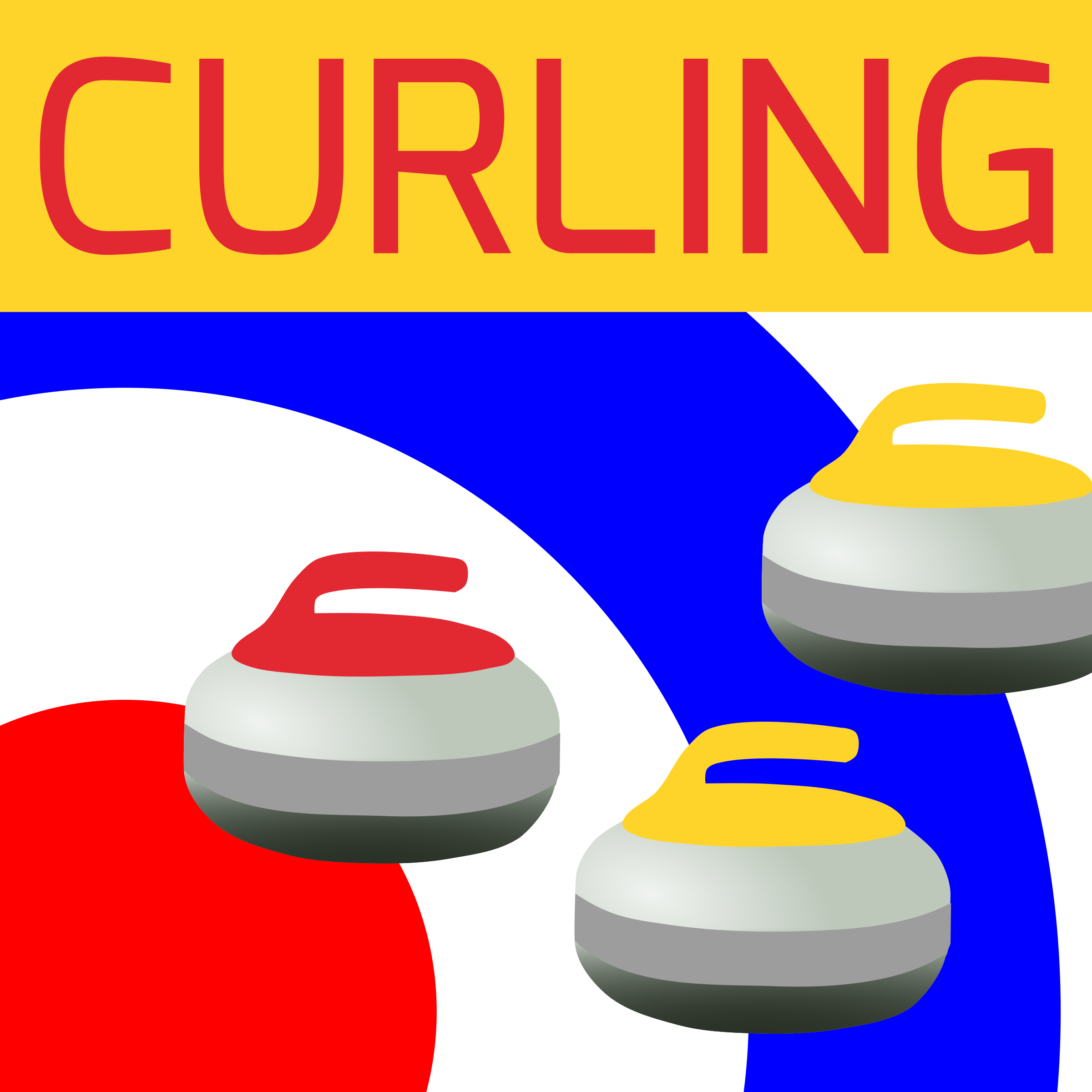 Curling Icon by Dustwin