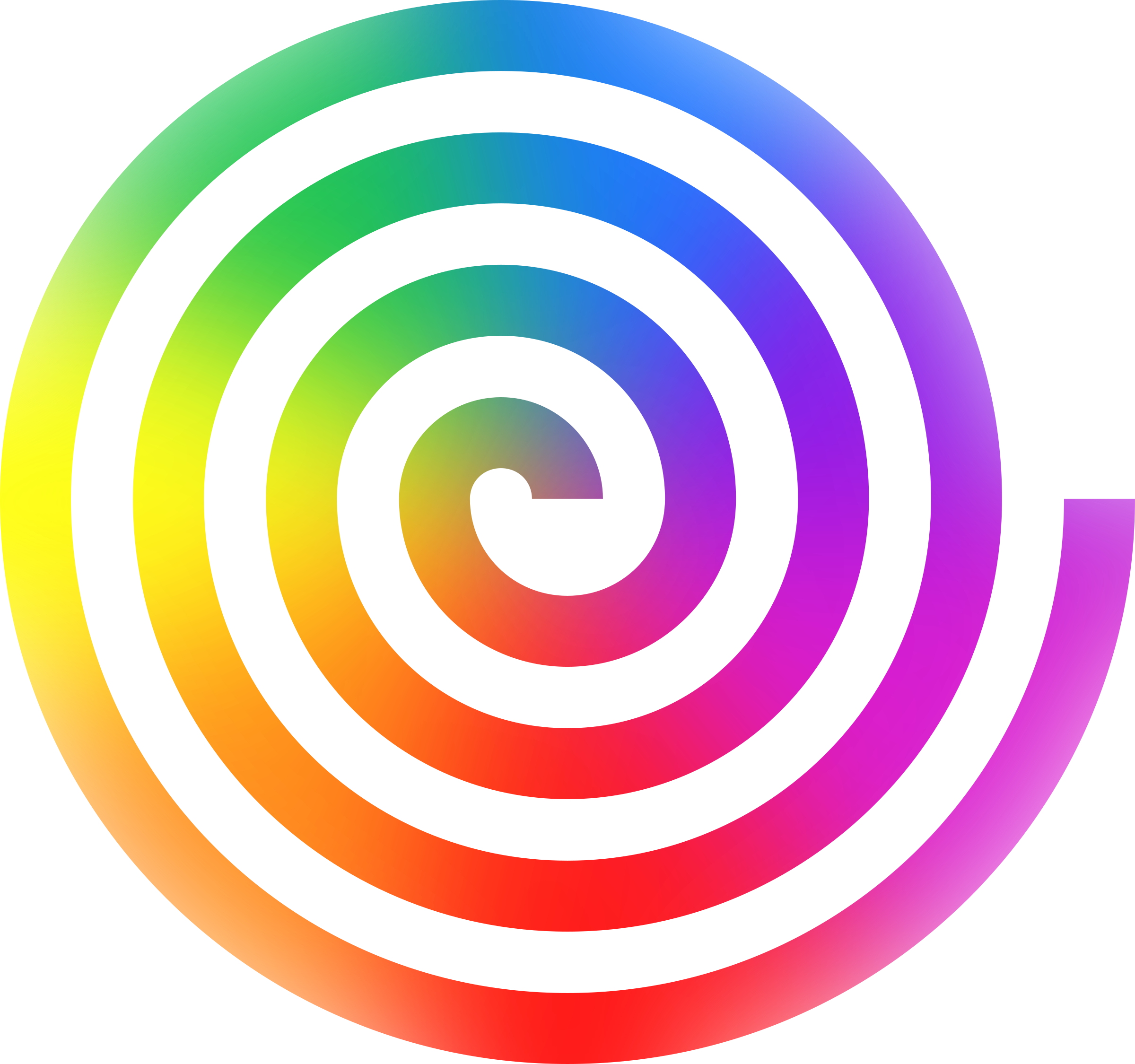 clipart rainbow spiral rh openclipart org swirl clipart swirl clip art generator