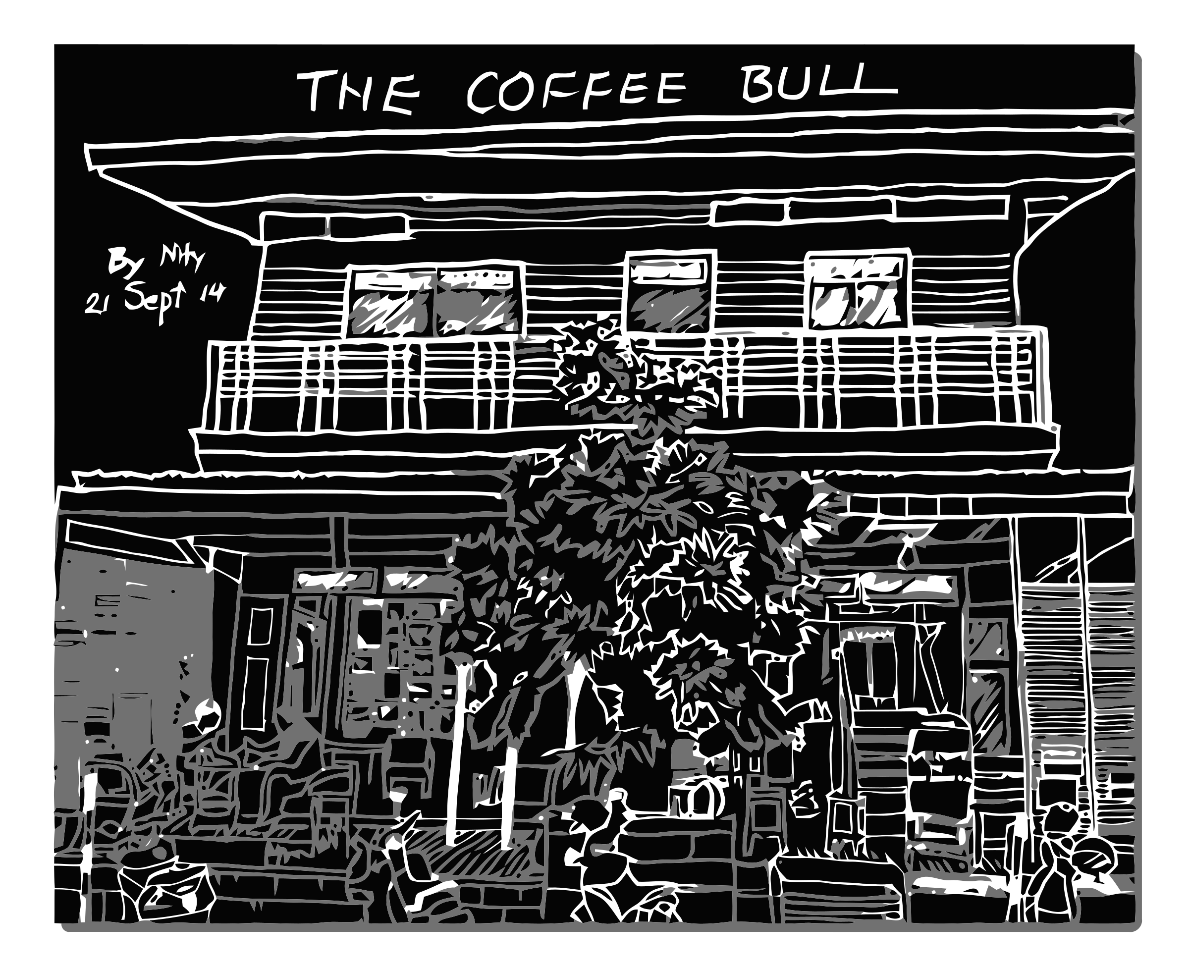 The Coffee Bull by aungkarns