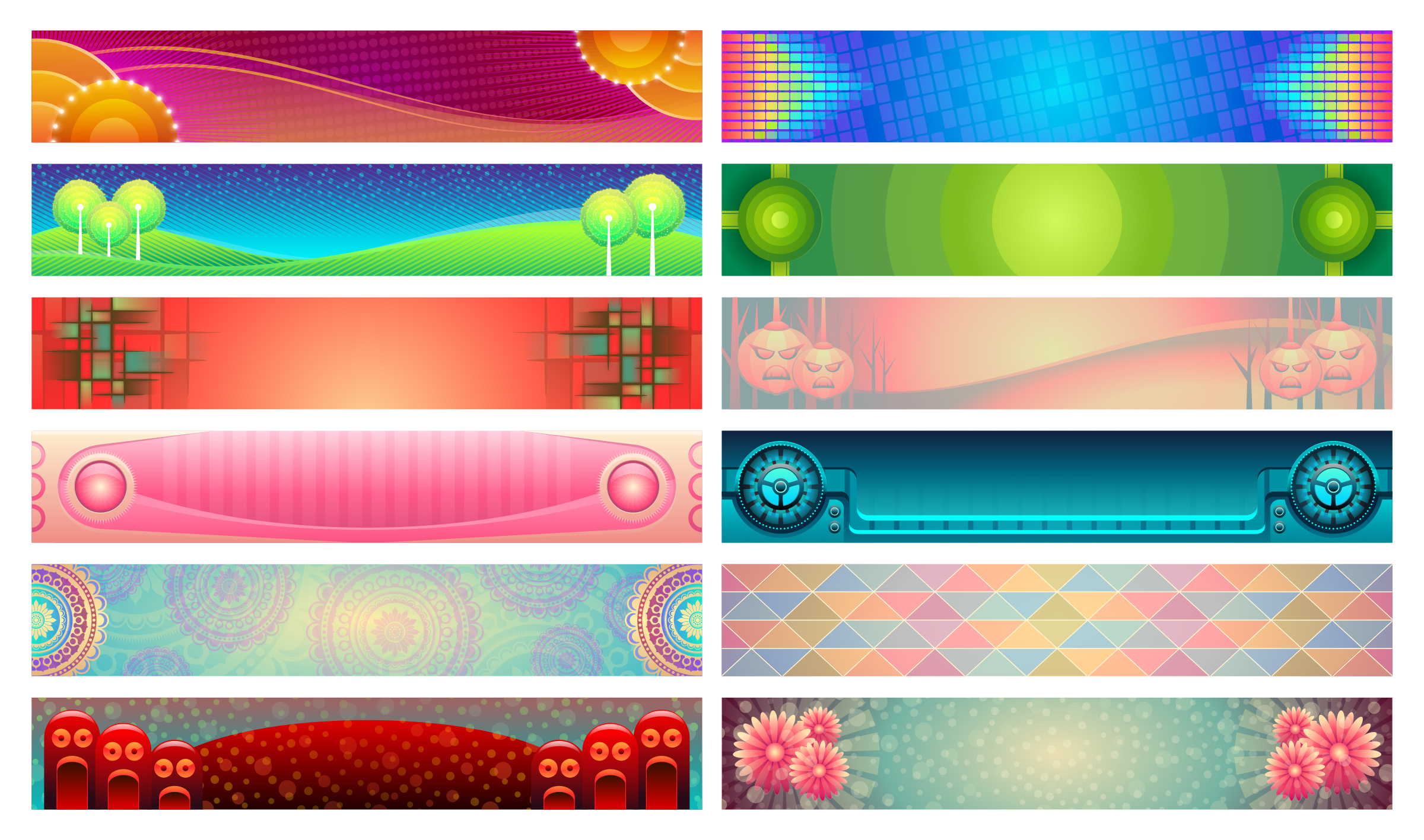 Banners Set by Viscious-Speed