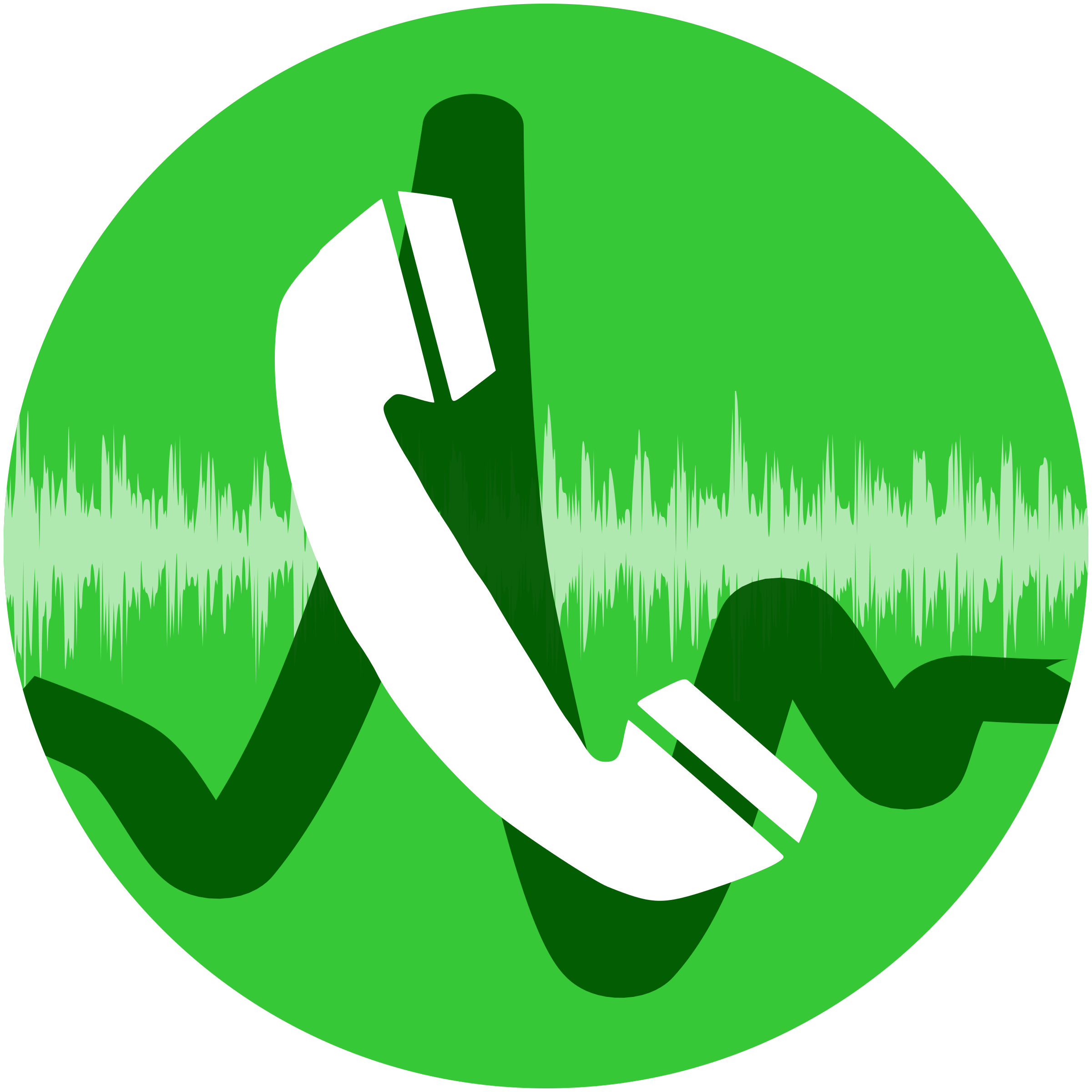 Phone Call Icon by Dustwin