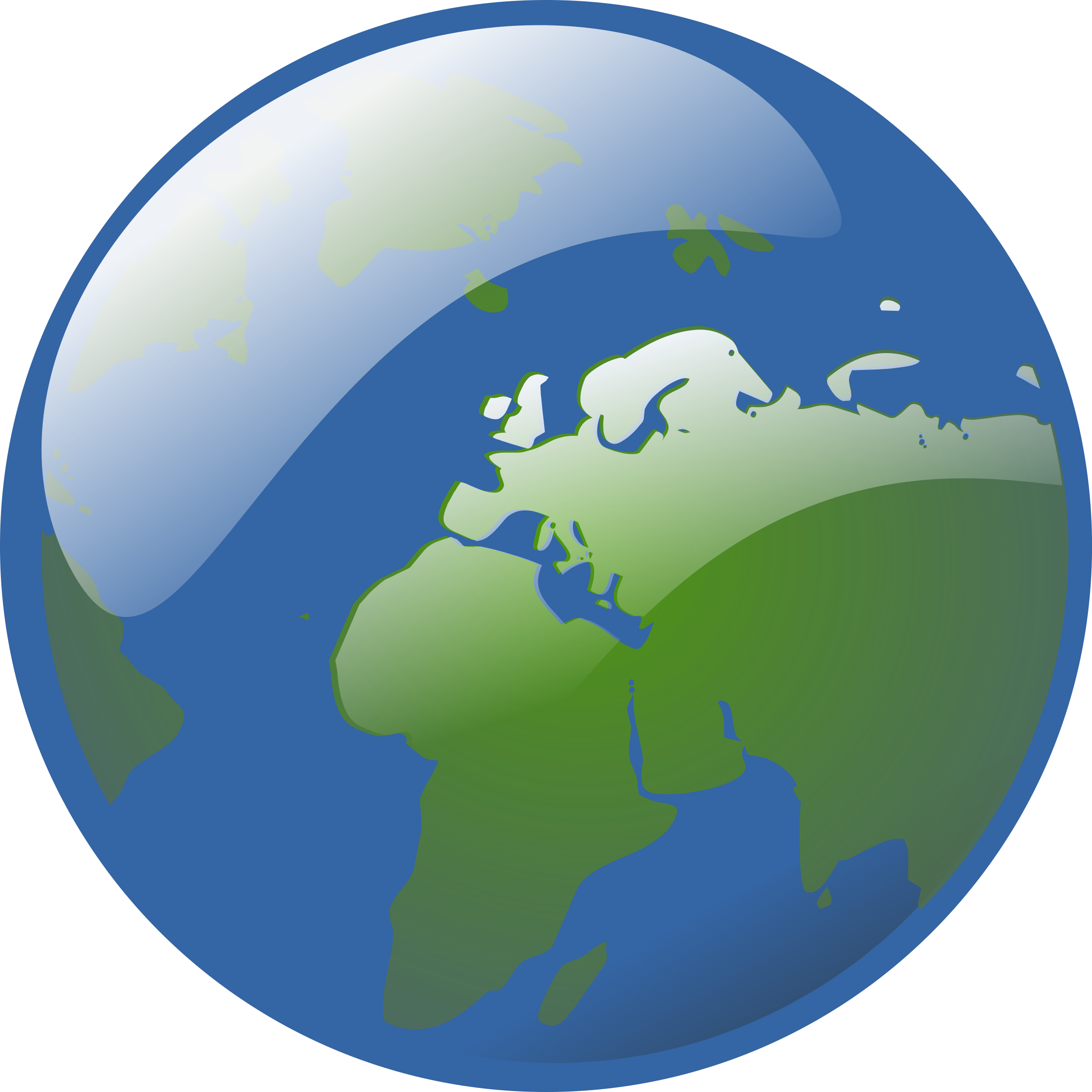 earth globe by rg1024