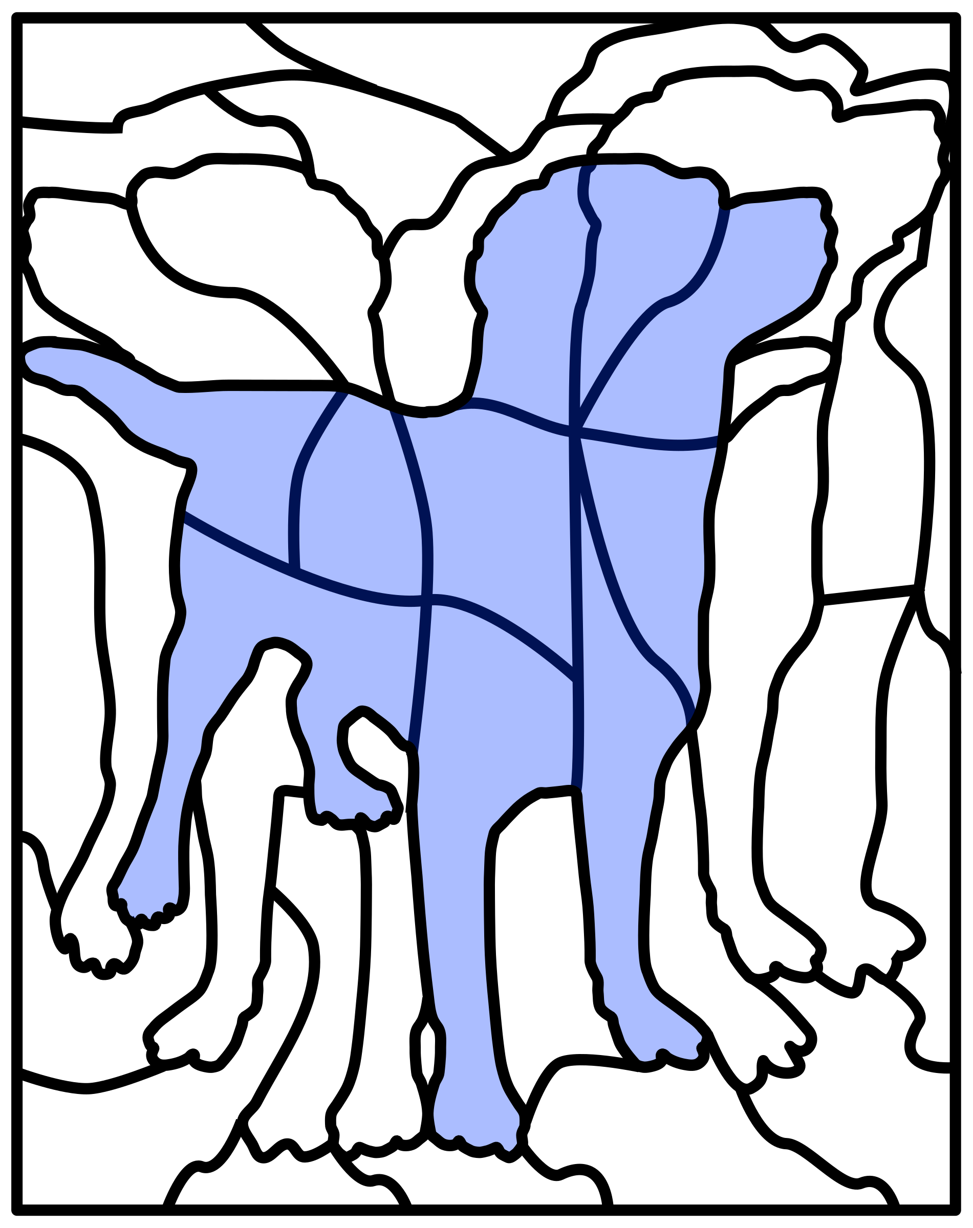 puzzle picture dog by frankes