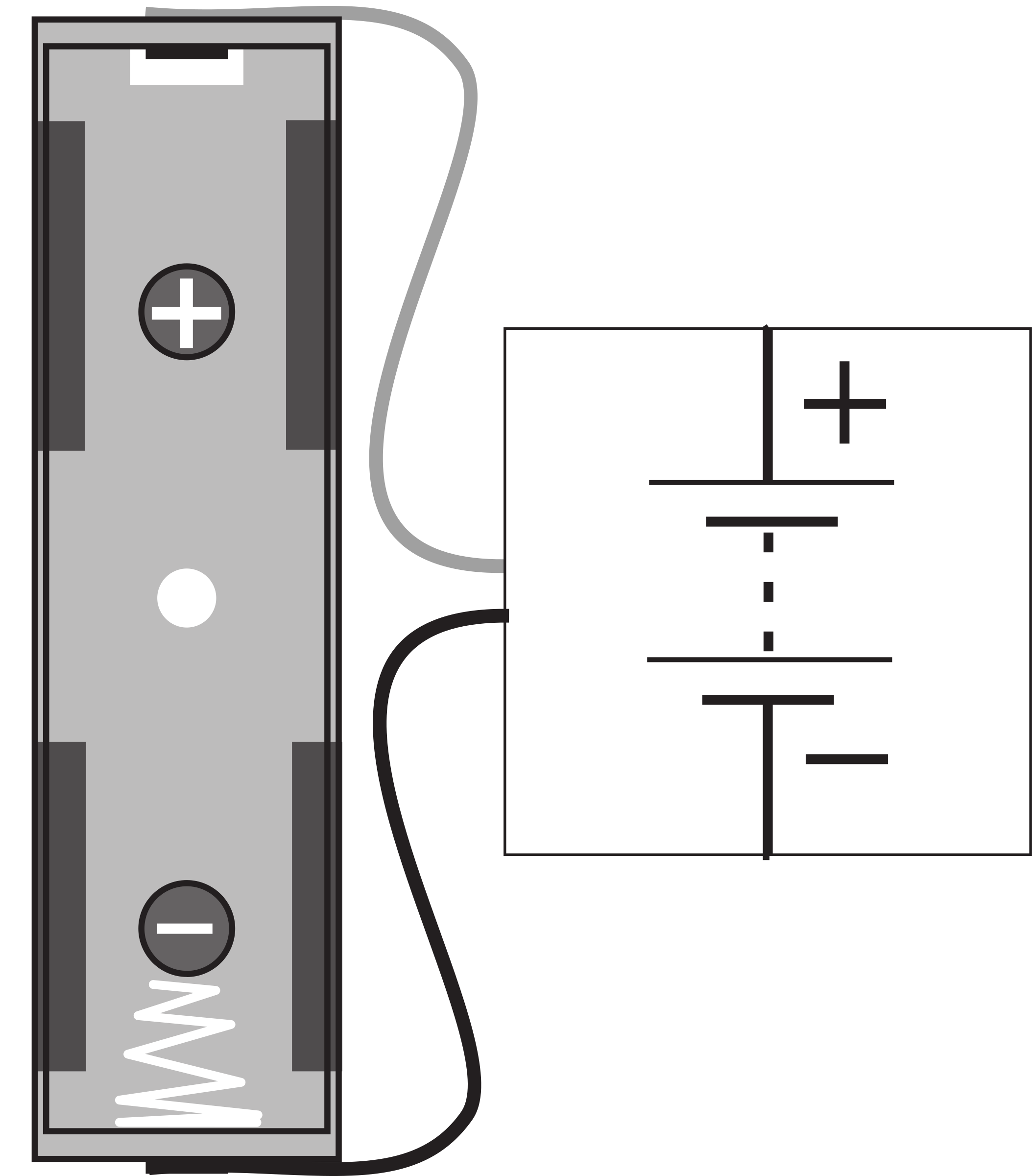 Battery Connector Block With AA Holder by Understanding-Electronics