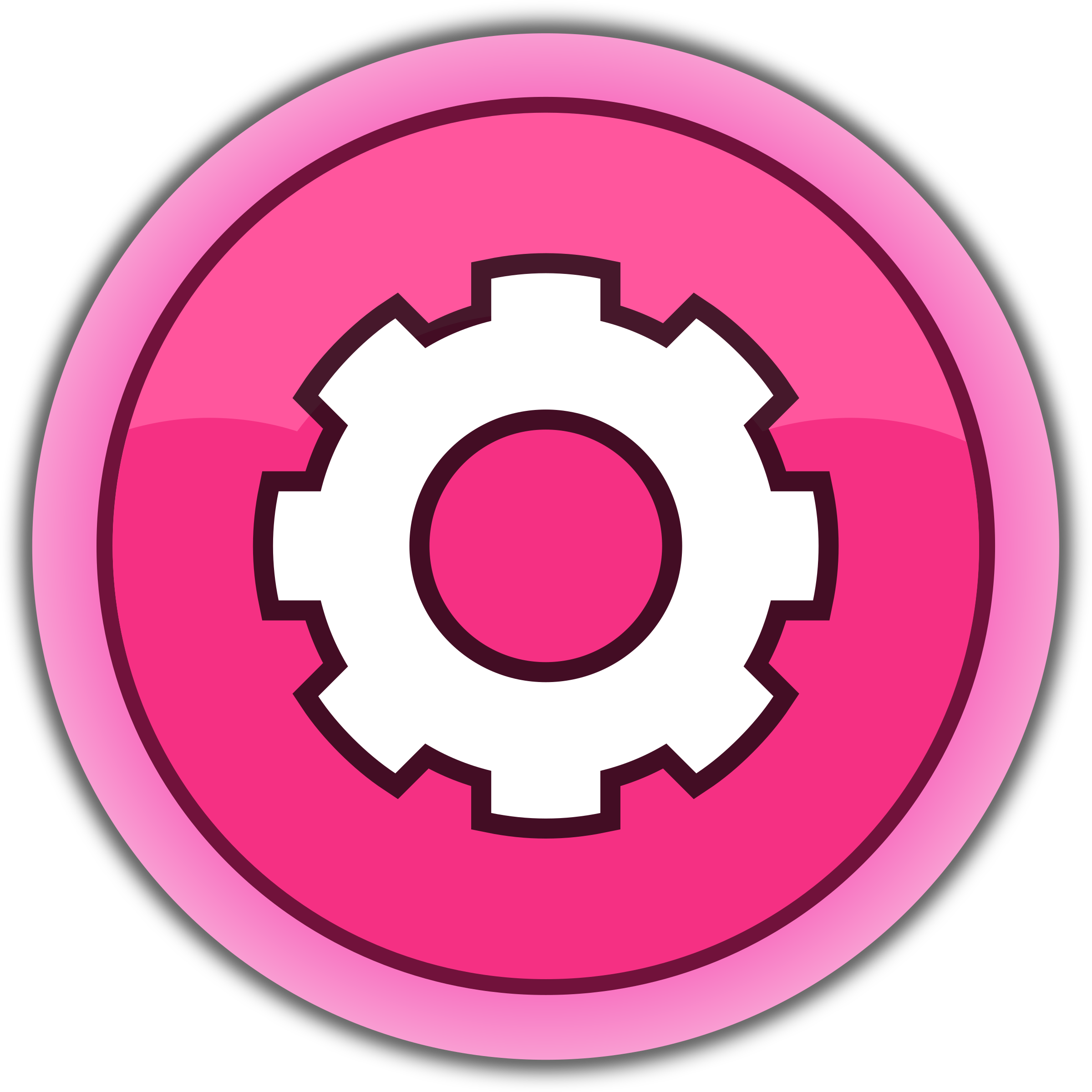 pink button settings by qubodup