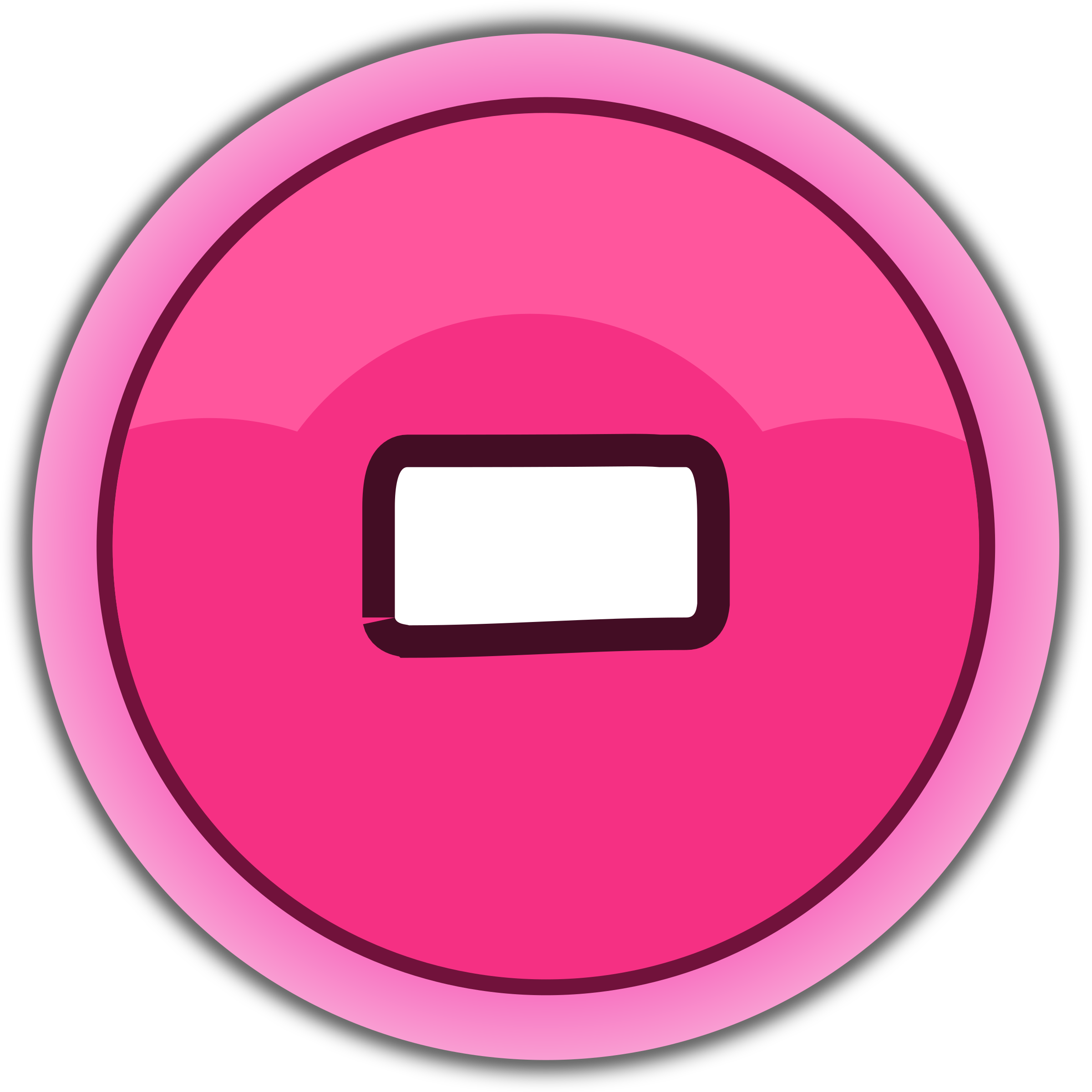 pink button minus by qubodup
