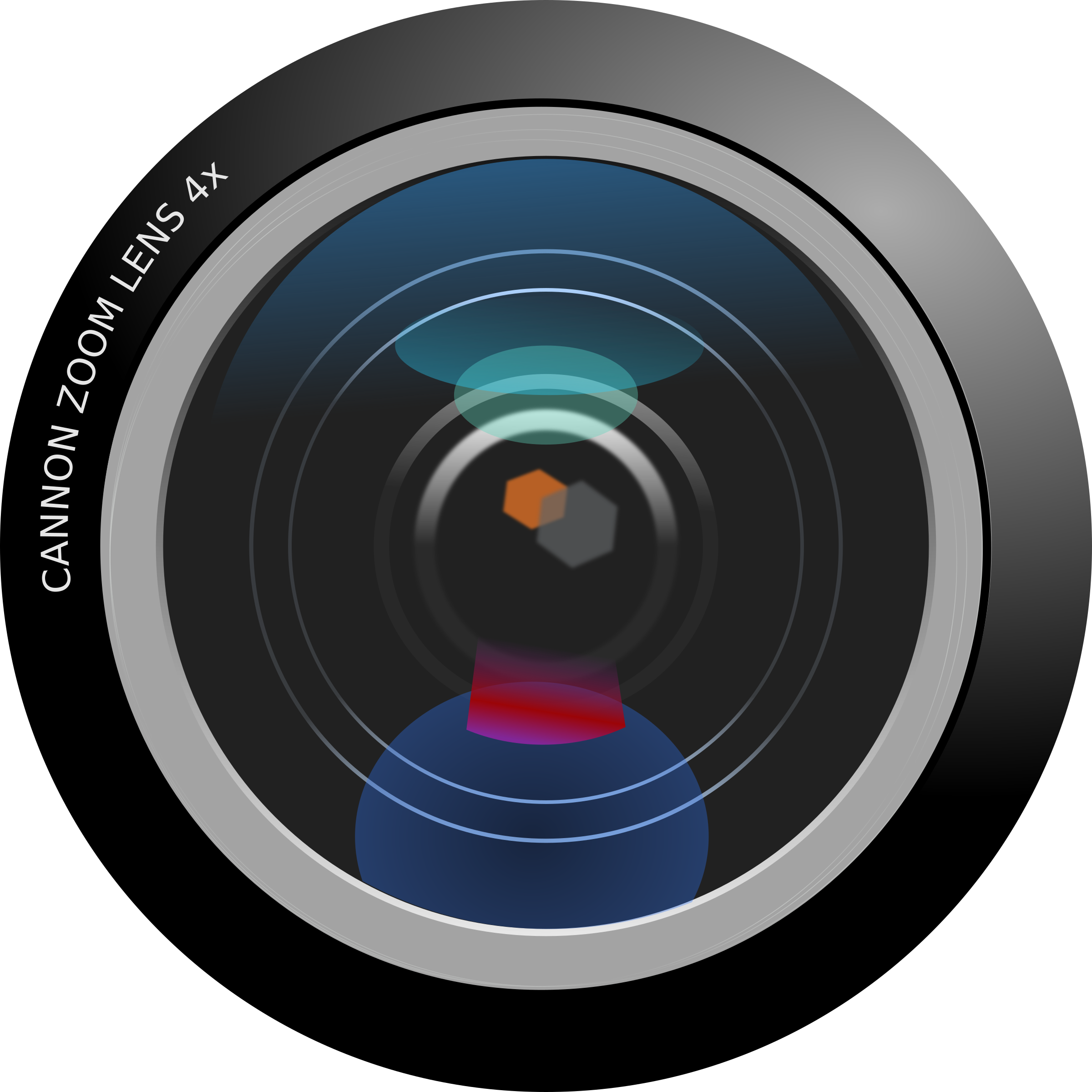 Clipart - Camera Lens
